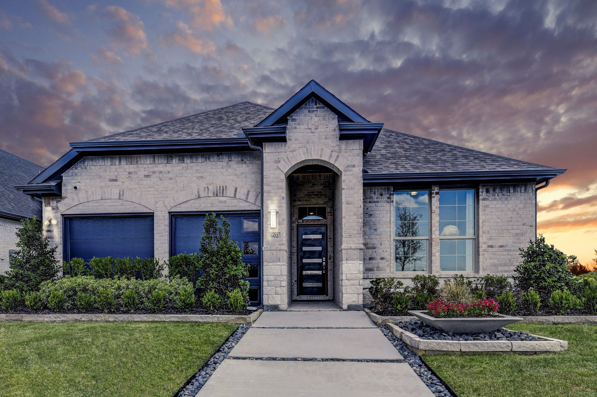 Exterior featured in the Rockford II By K. Hovnanian® Homes in Dallas, TX