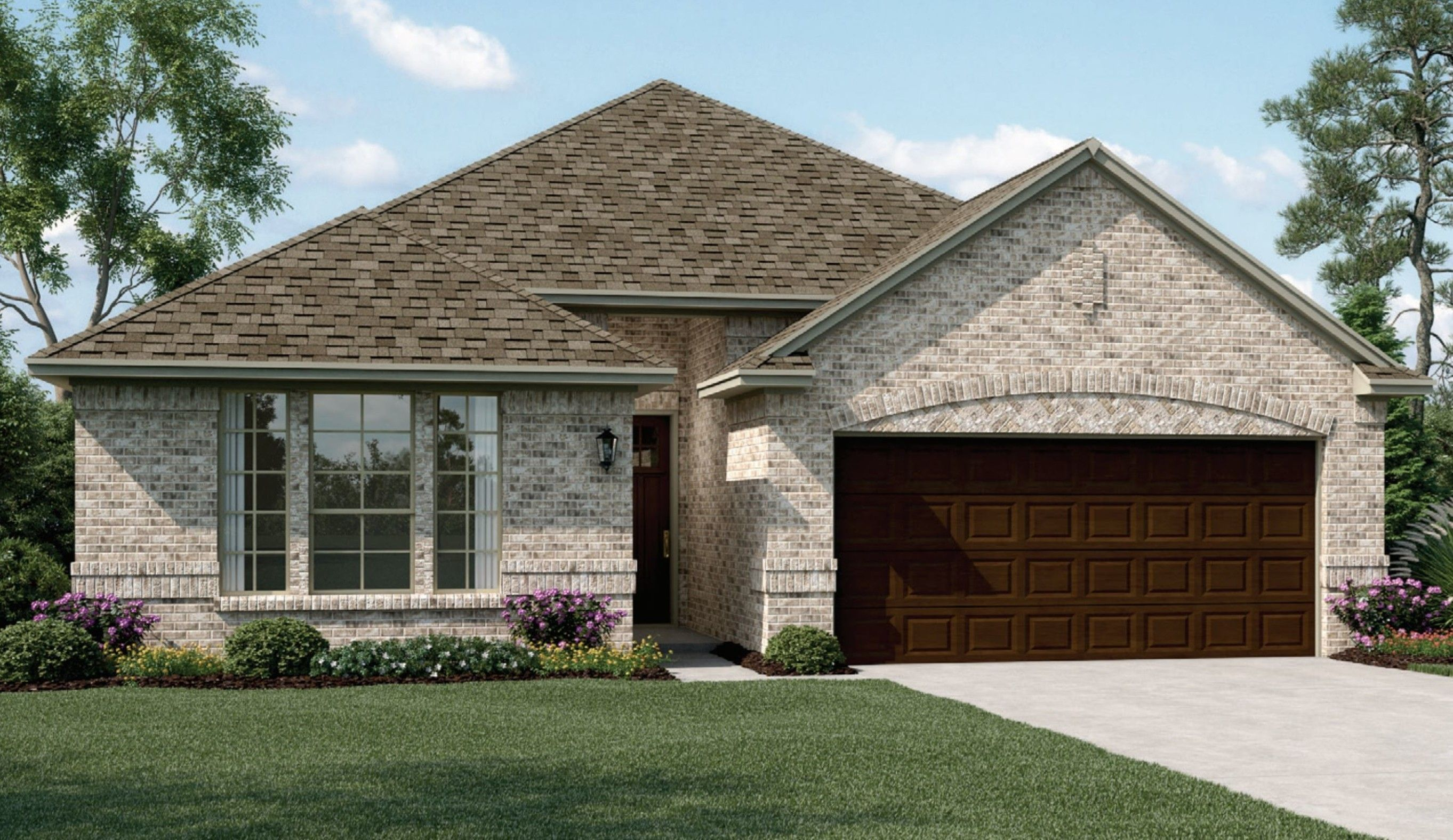 Exterior featured in the Camelot II By K. Hovnanian® Homes in Fort Worth, TX