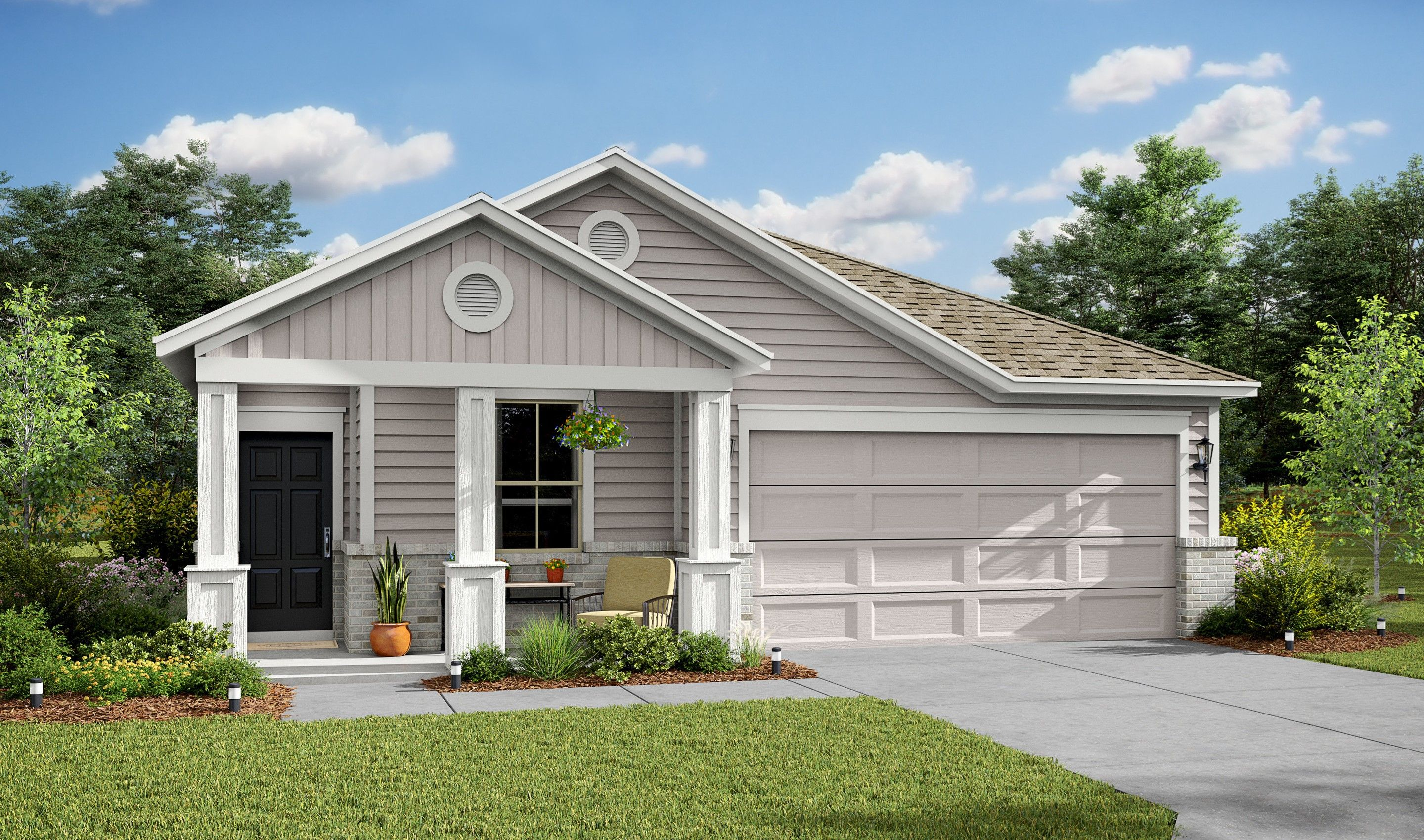 Exterior featured in the Graphite By K. Hovnanian® Homes in Houston, TX