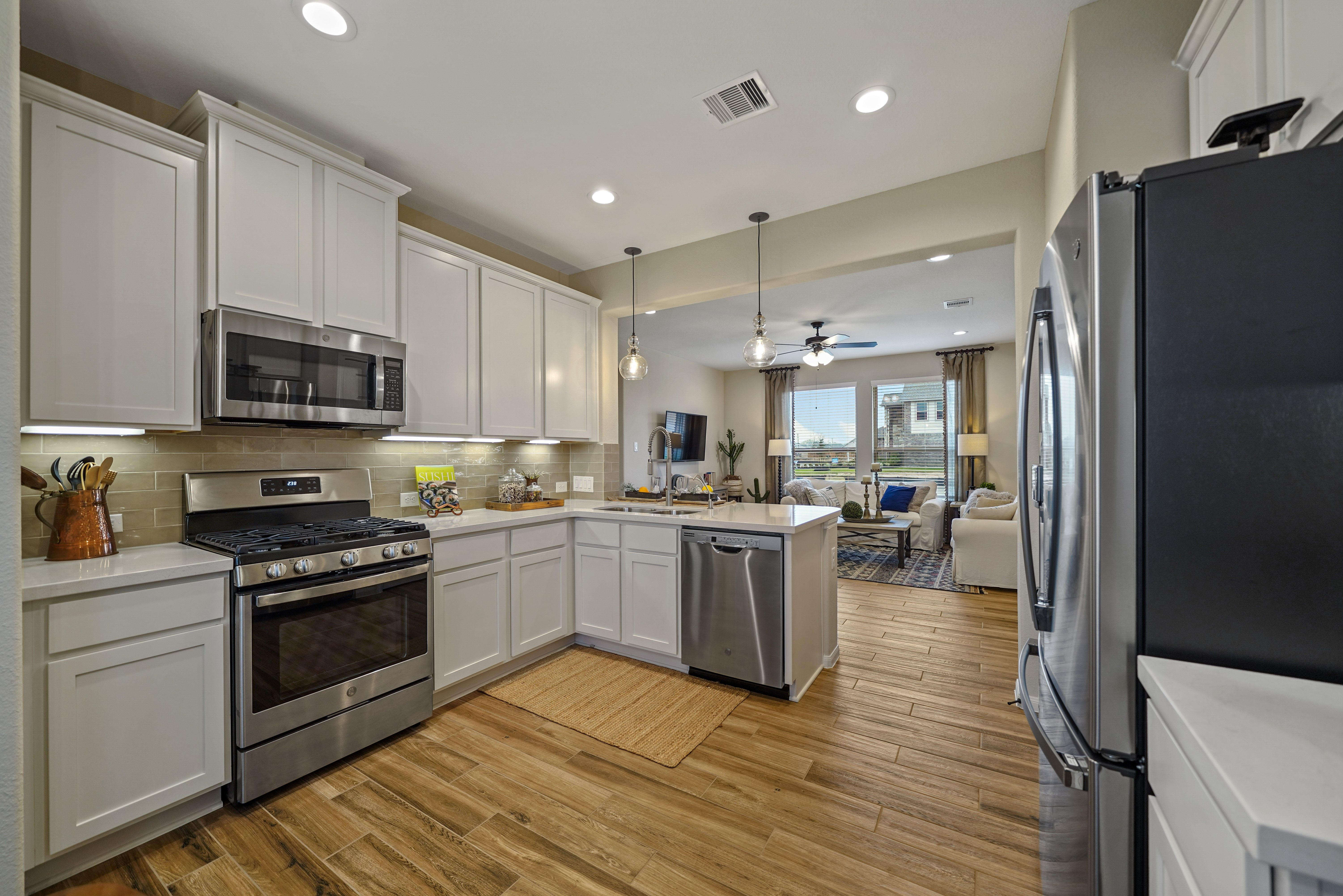 Kitchen featured in the Hoover II By K. Hovnanian® Homes in Brazoria, TX