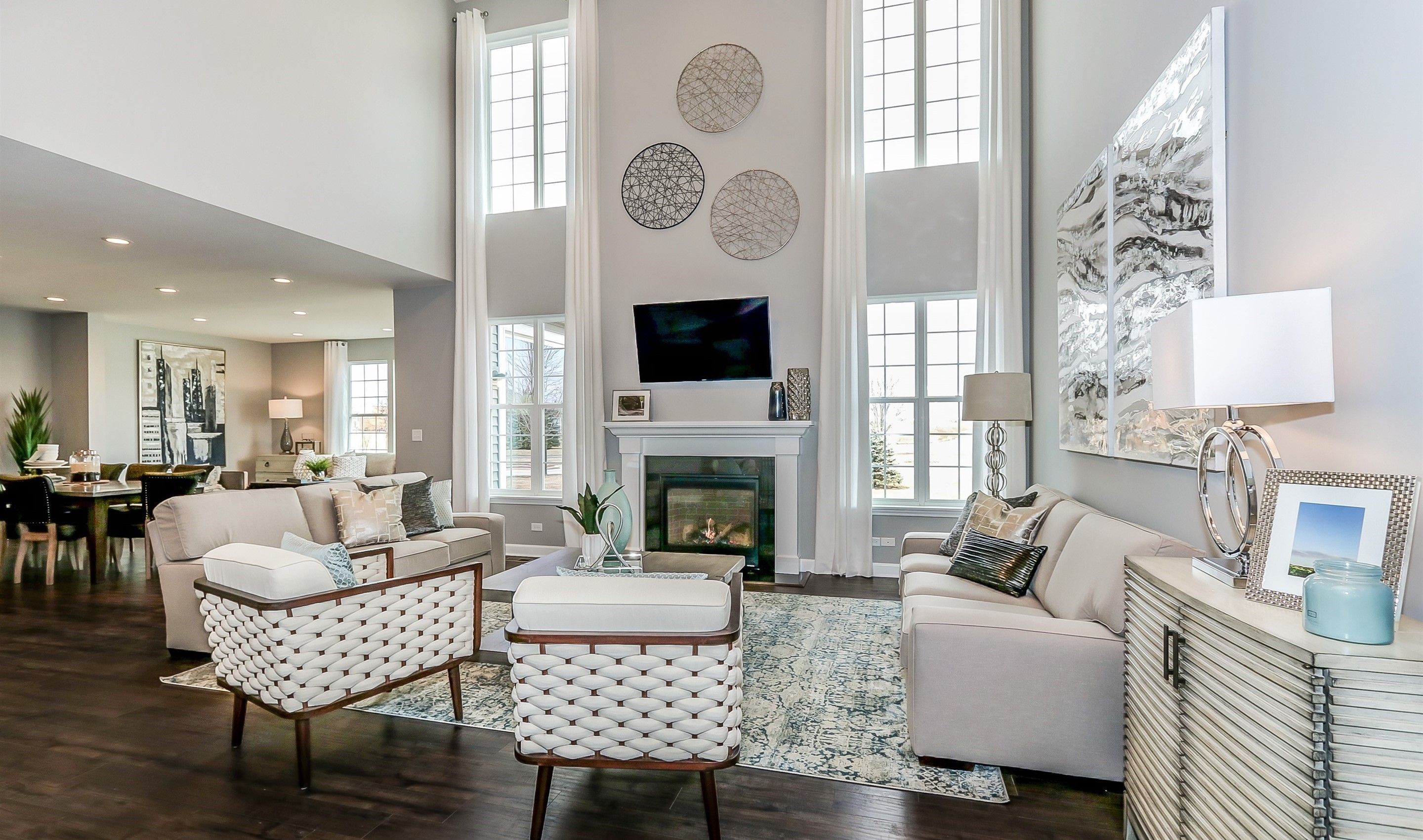 Living Area featured in the Blakely By K. Hovnanian® Homes in Washington, VA