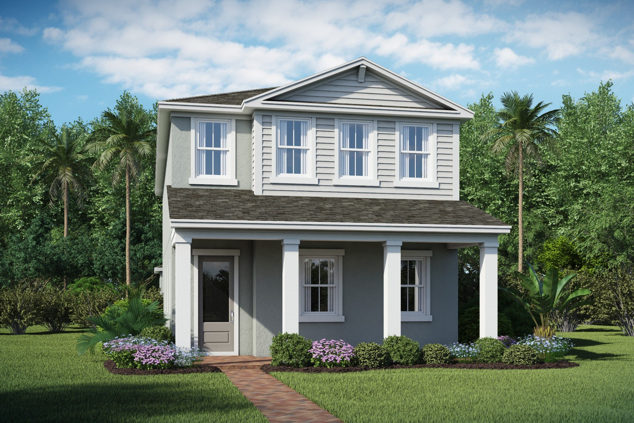 Exterior featured in the Tessa By K. Hovnanian® Homes in Daytona Beach, FL