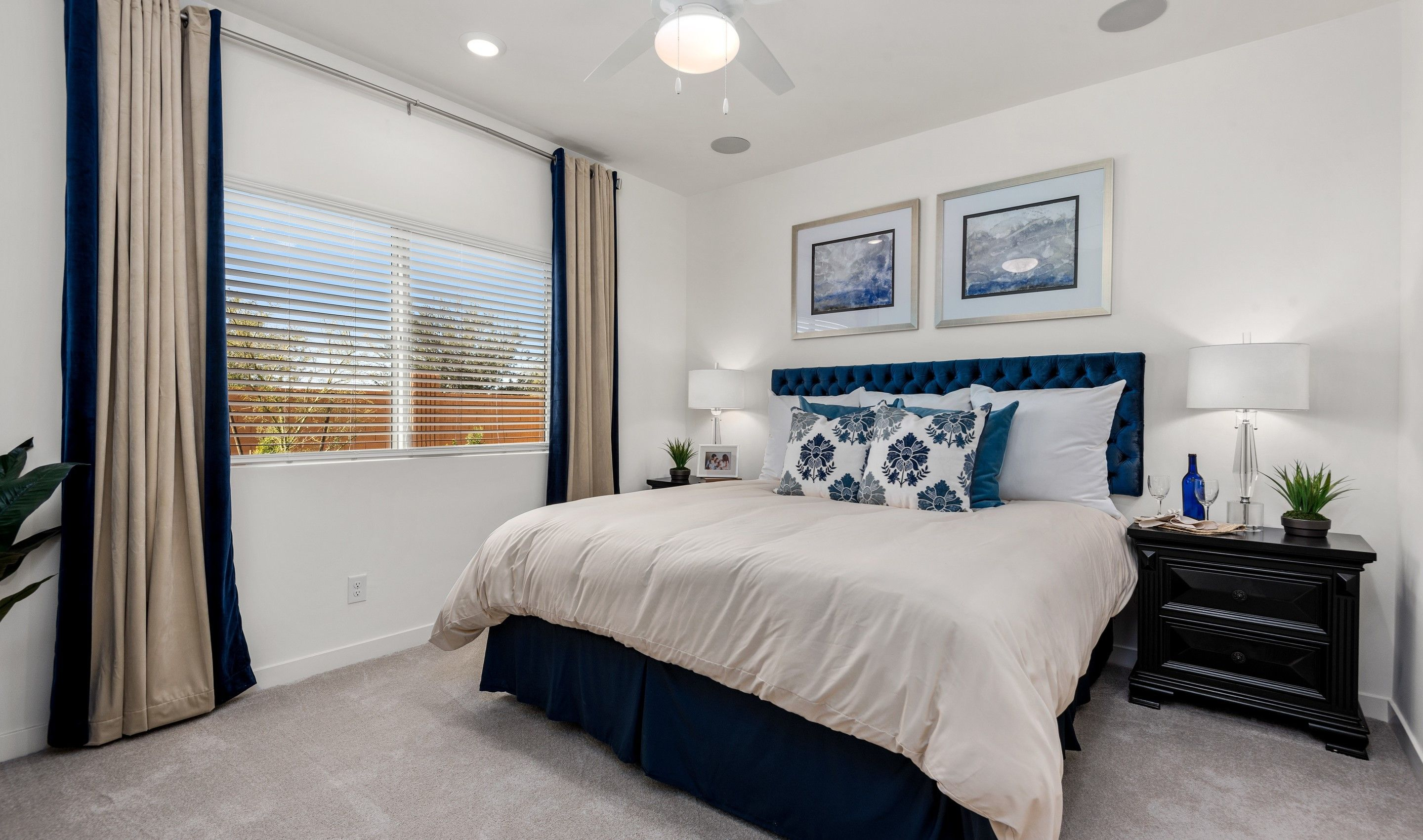 Bedroom featured in the Celebration By K. Hovnanian® Homes in Phoenix-Mesa, AZ