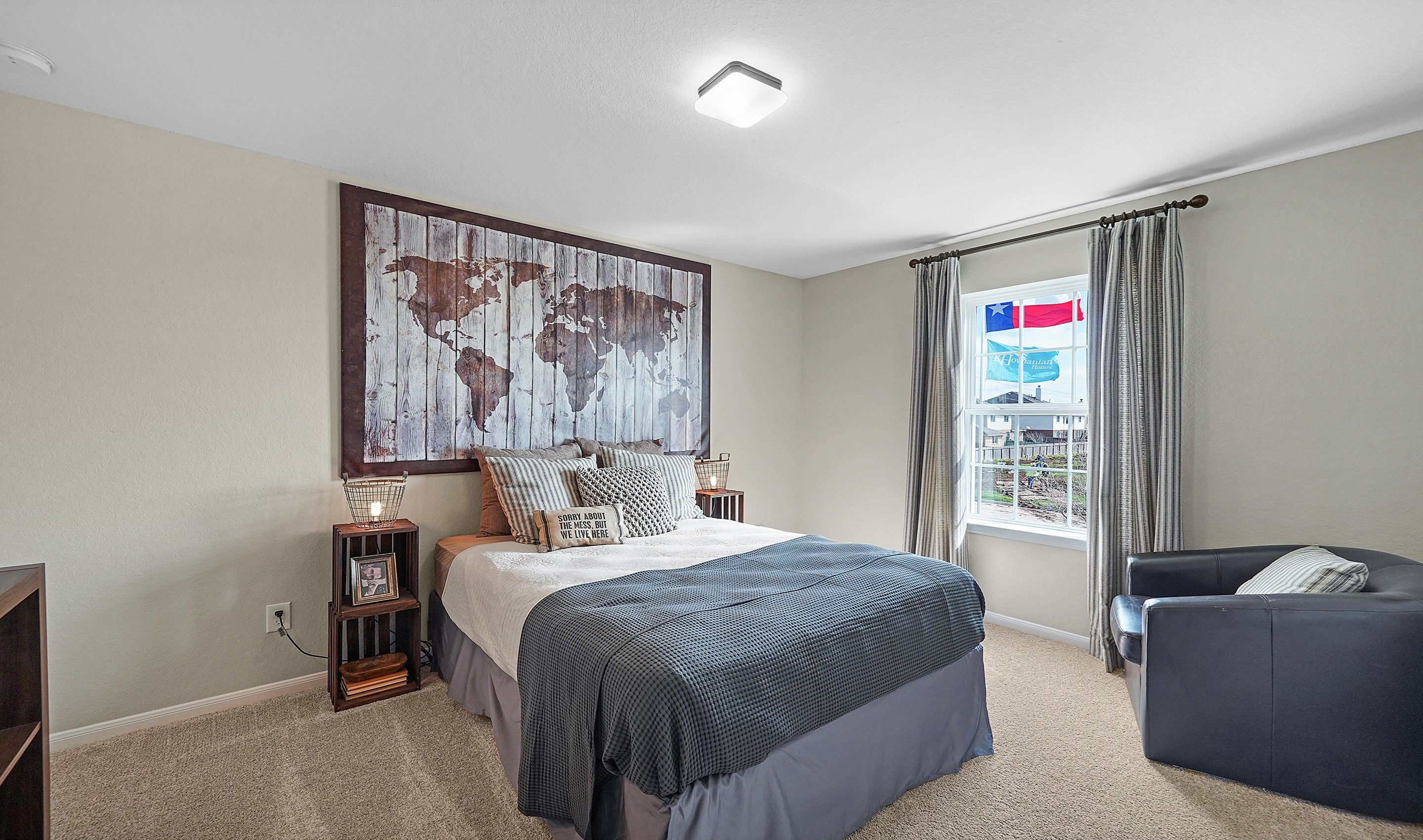 Bedroom featured in the Wilmington II By K. Hovnanian® Homes in Houston, TX