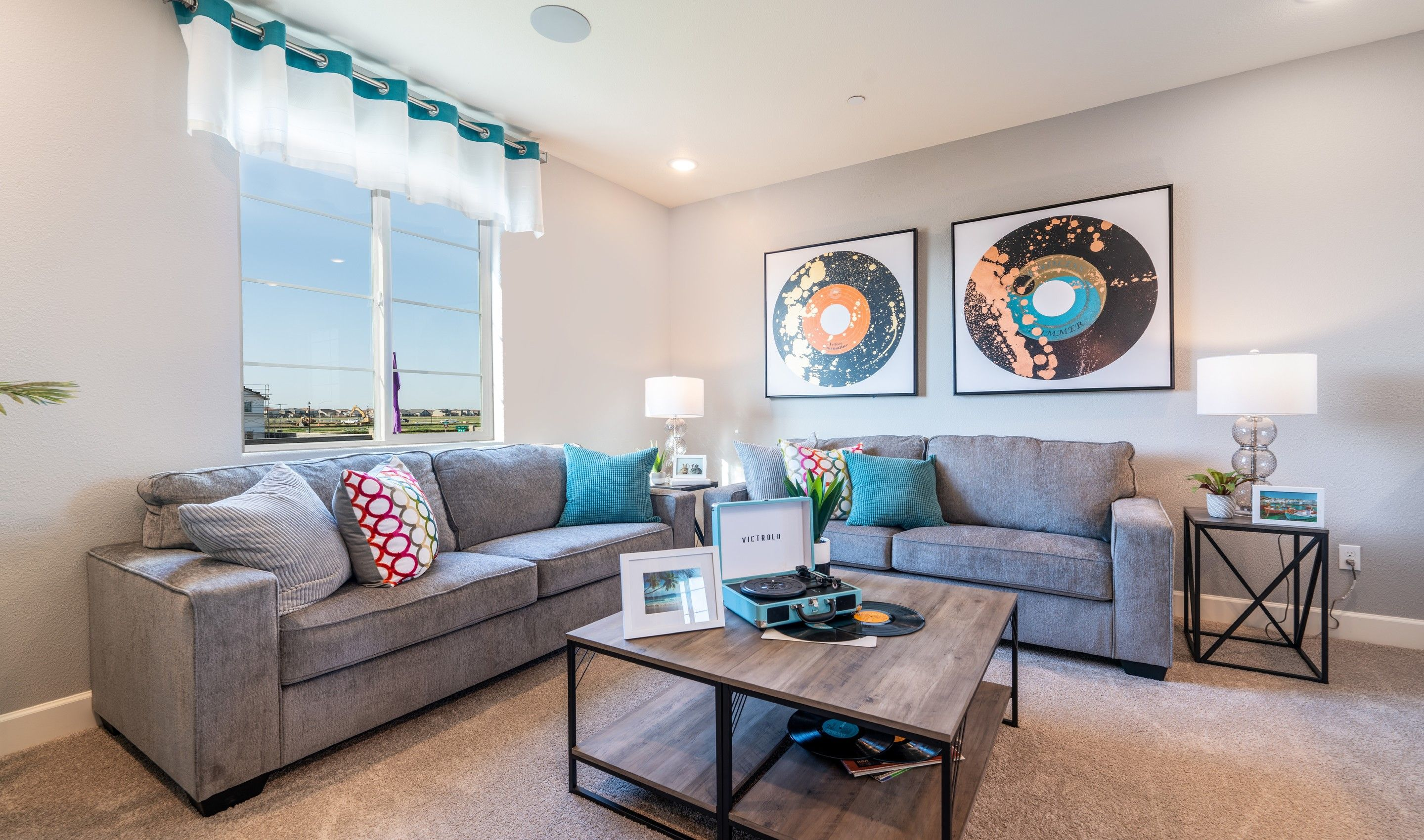 Living Area featured in the Bennett By K. Hovnanian® Homes in Sacramento, CA
