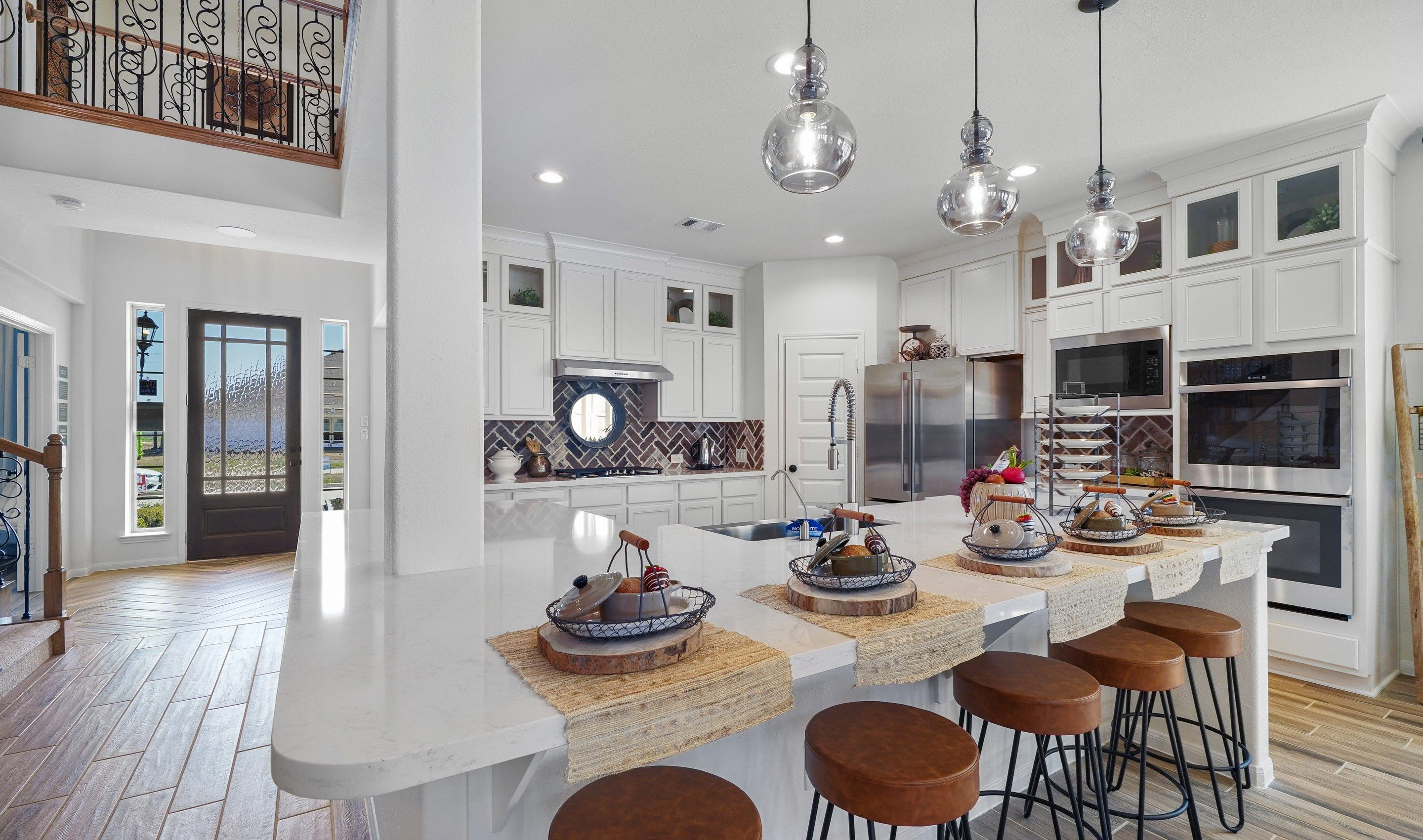 Kitchen featured in the Millie By K. Hovnanian® Homes in Houston, TX
