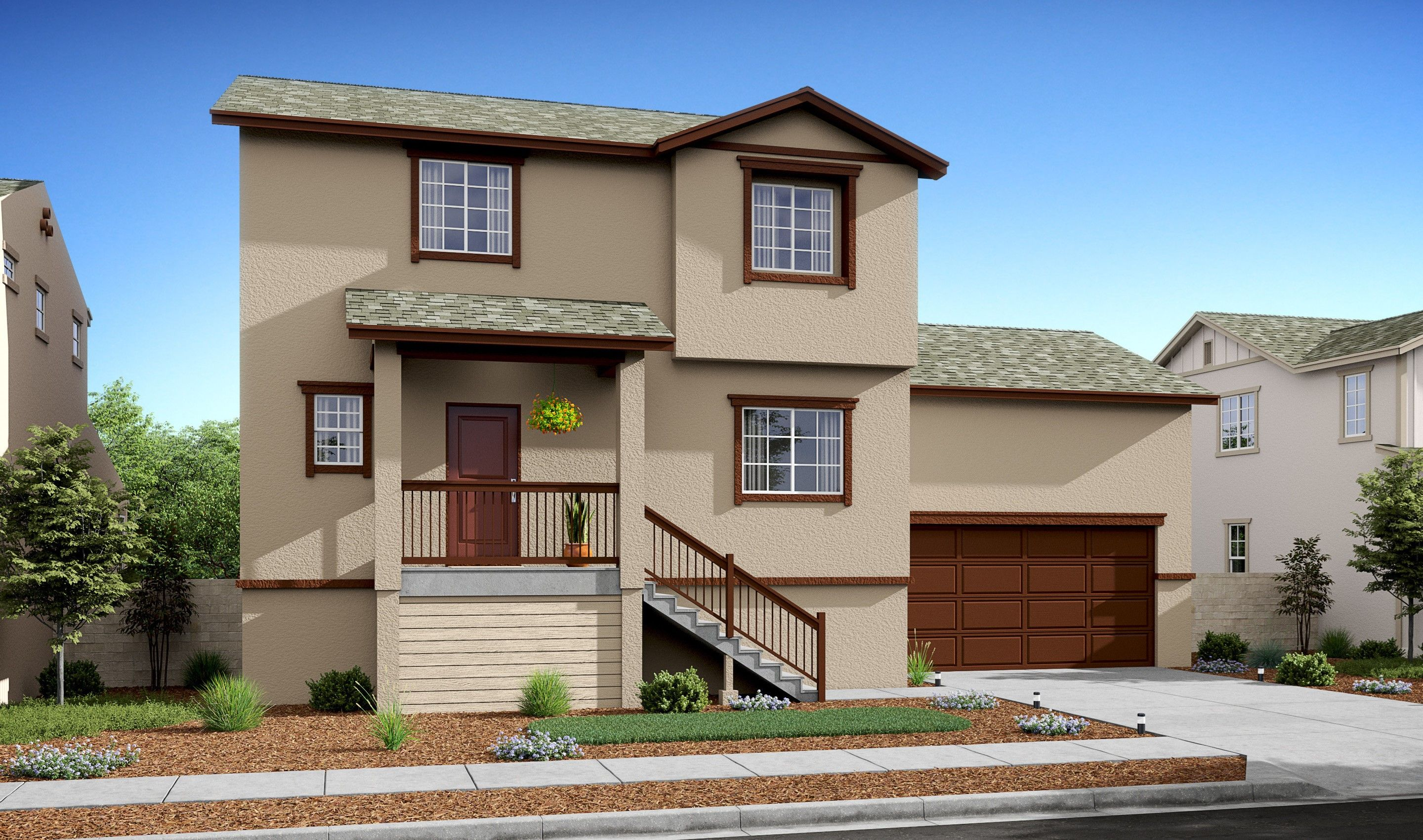 Exterior featured in the Dakota By K. Hovnanian® Homes in Stockton-Lodi, CA