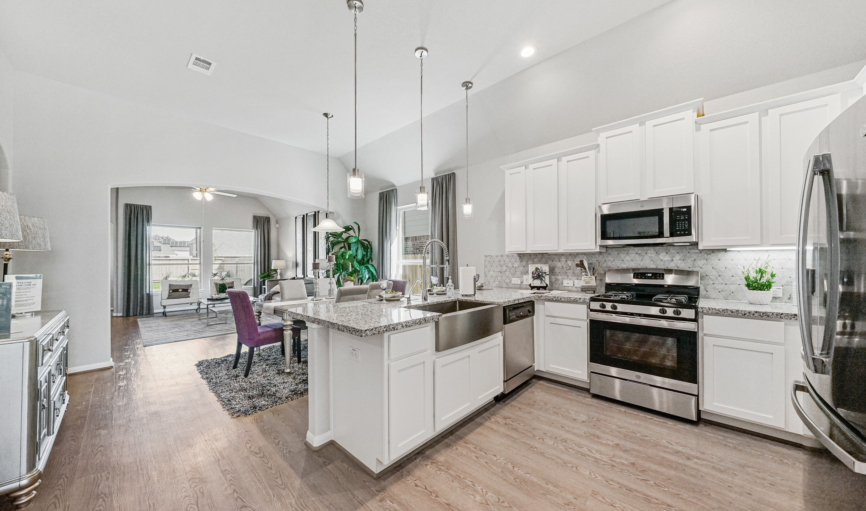 Kitchen featured in the Fairbanks By K. Hovnanian® Homes in Houston, TX