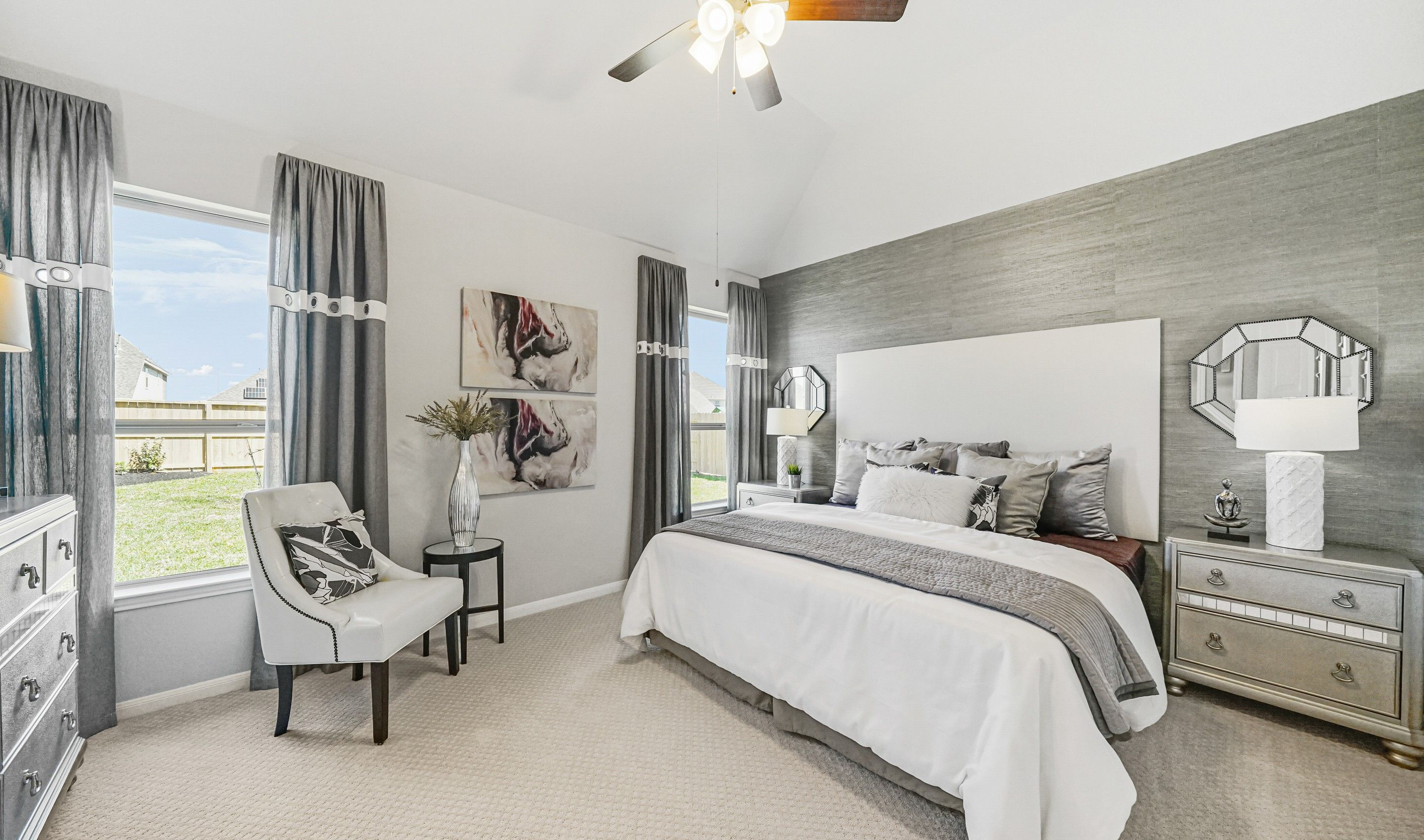 Bedroom featured in the Fairbanks By K. Hovnanian® Homes in Brazoria, TX