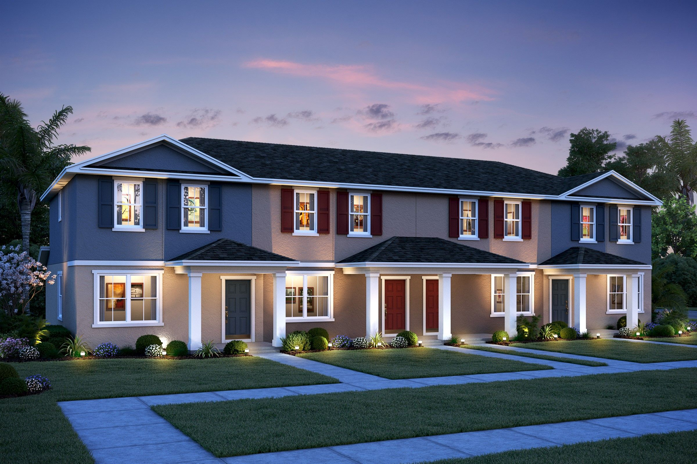 Exterior featured in the Peabody By K. Hovnanian® Homes in Daytona Beach, FL