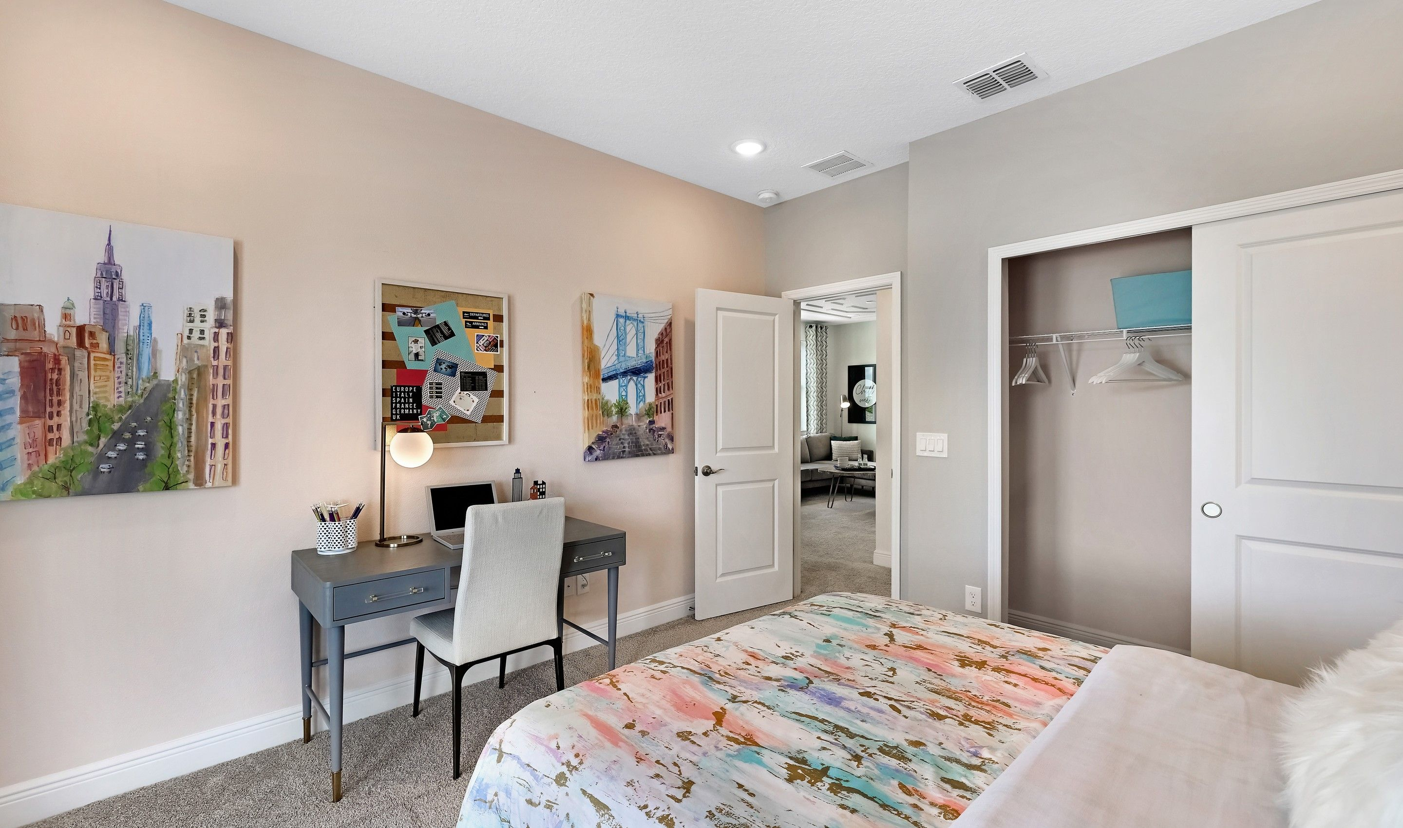 Bedroom featured in the Suncrest By K. Hovnanian® Homes in Daytona Beach, FL