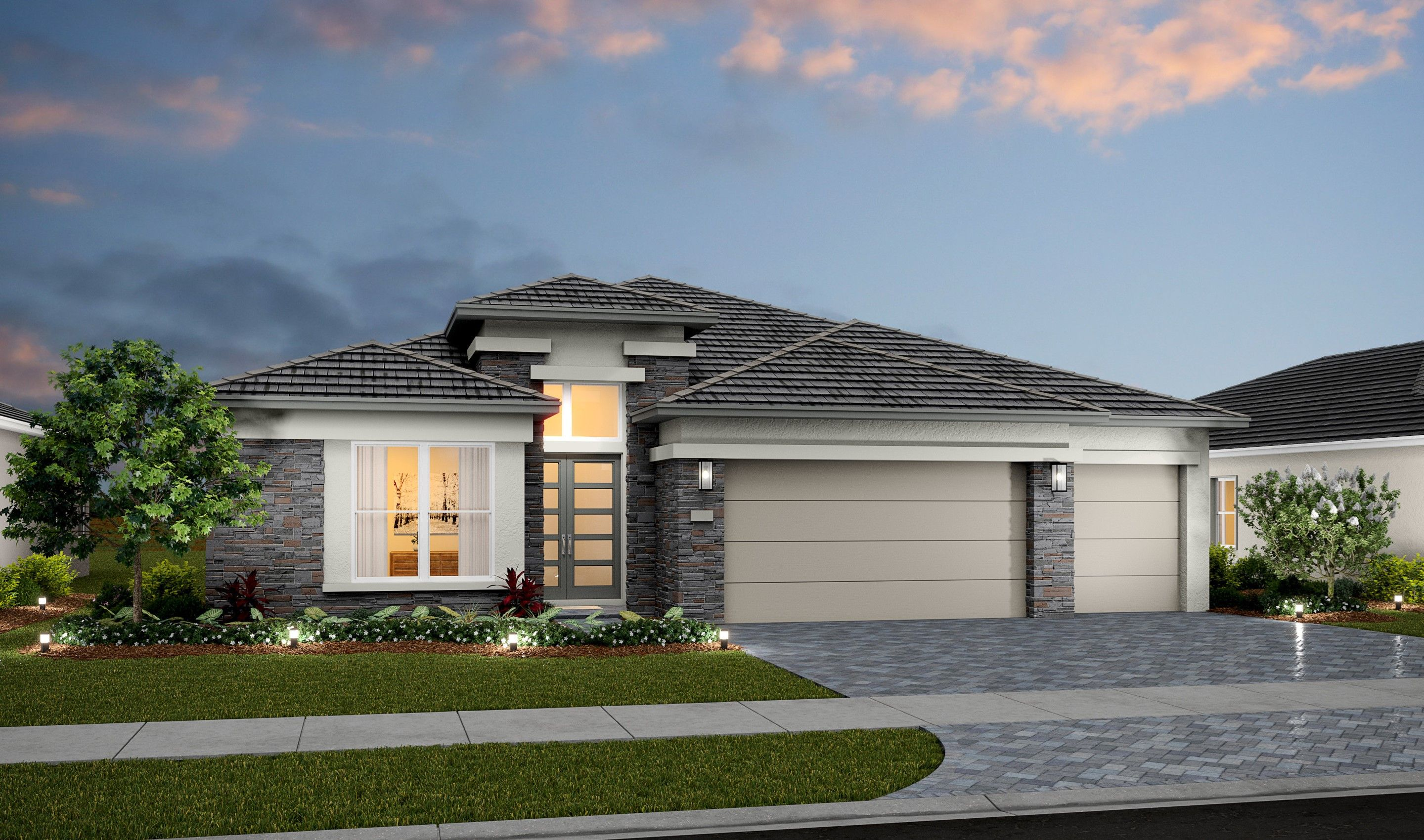 Exterior featured in the Albert By K. Hovnanian® Homes in Palm Beach County, FL