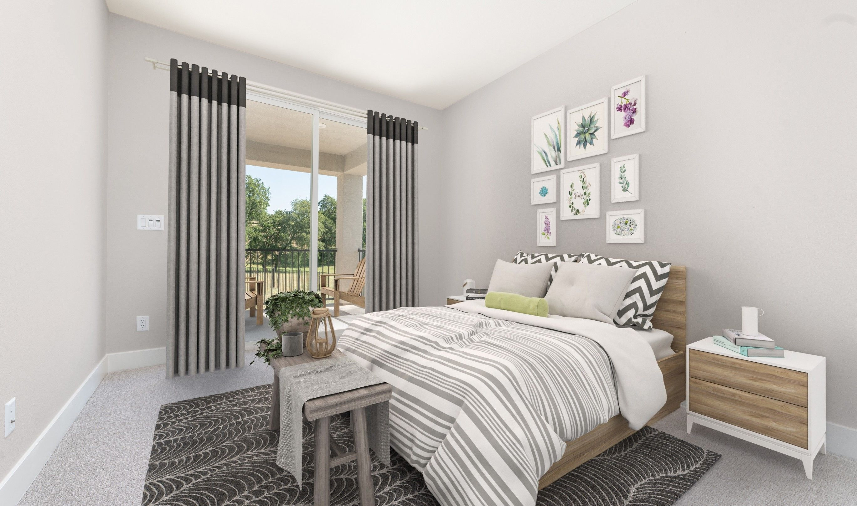 Bedroom featured in the Audrey By K. Hovnanian® Homes in Sacramento, CA