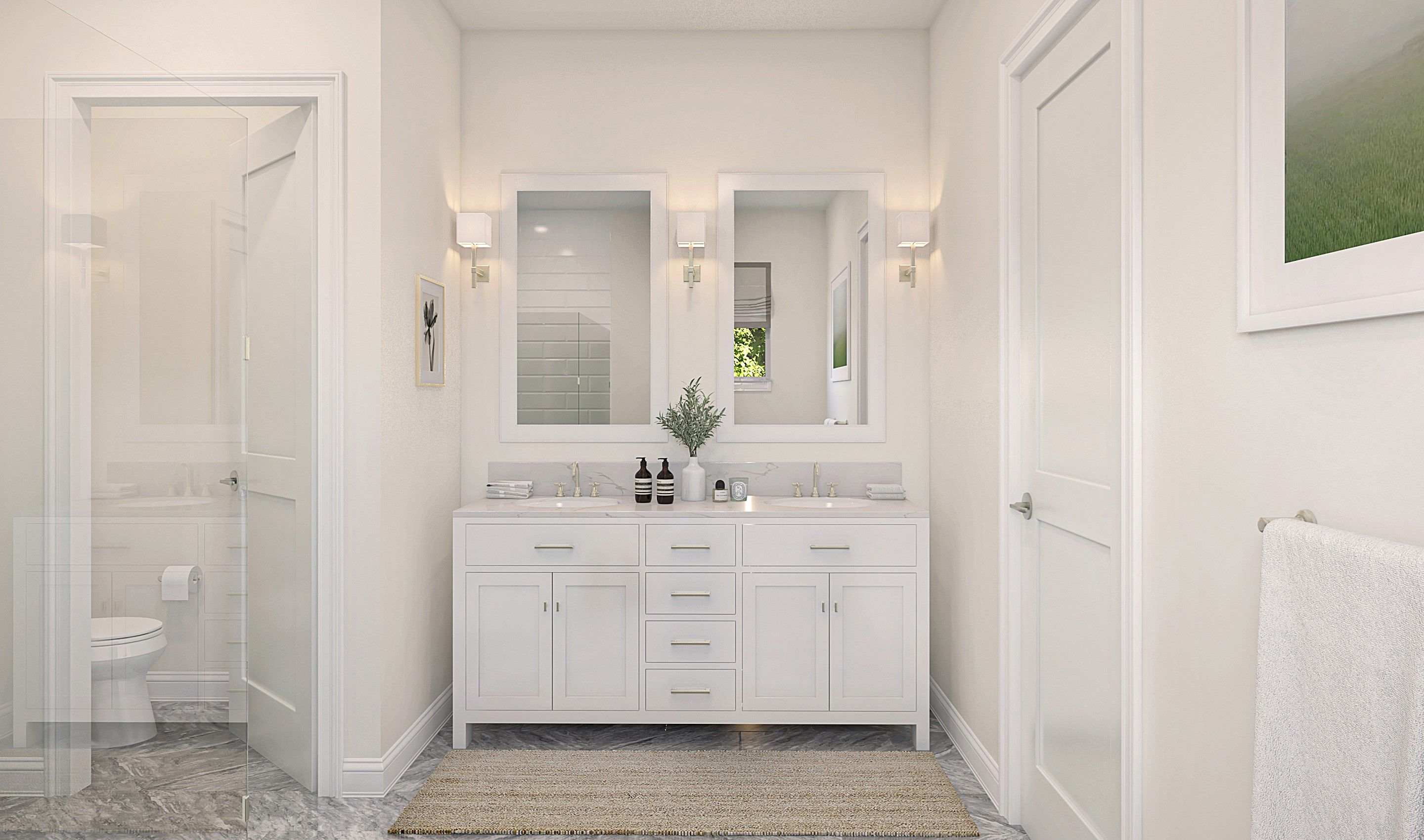 Bathroom featured in the Albert By K. Hovnanian® Homes in Palm Beach County, FL