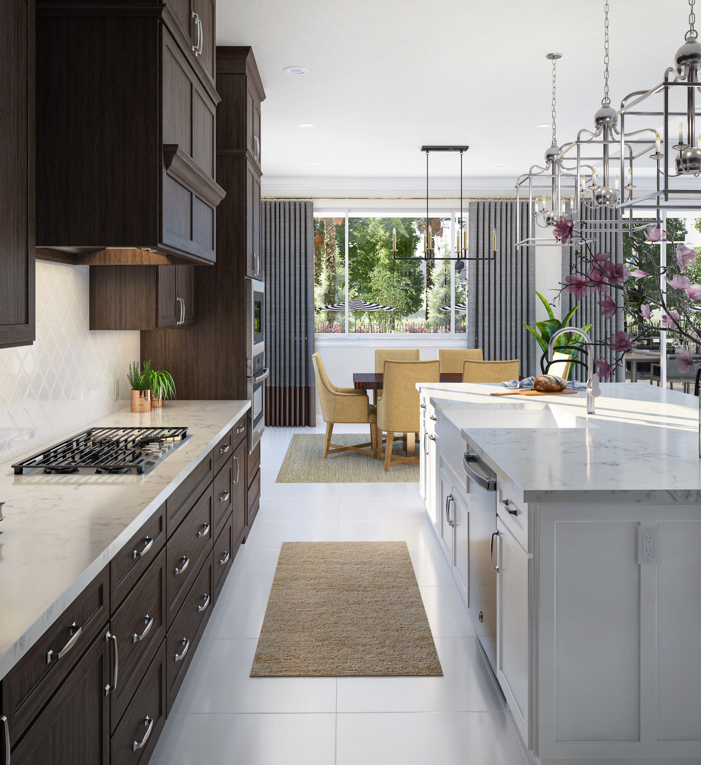 Kitchen featured in the Elsinore By K. Hovnanian® Homes in Palm Beach County, FL