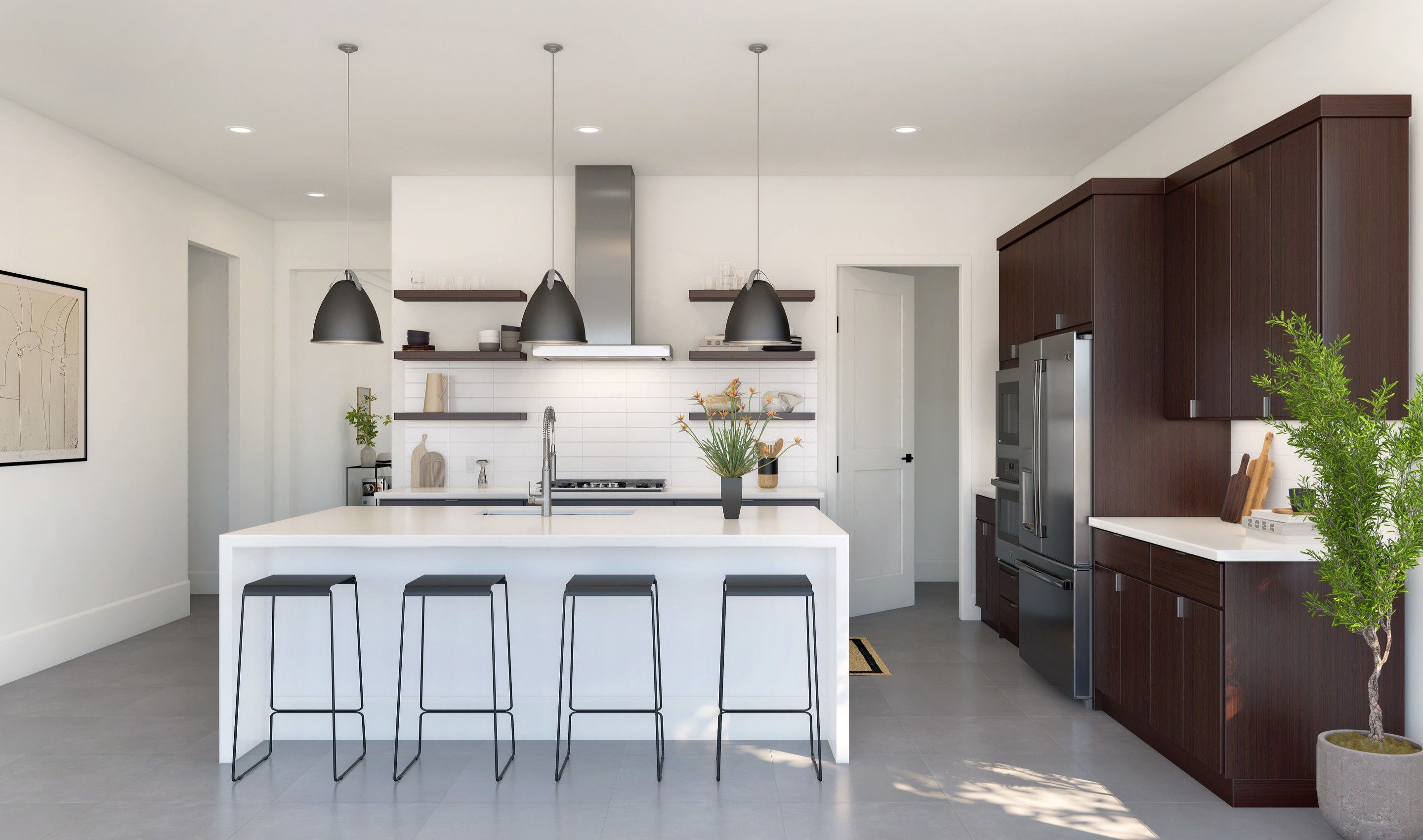 Kitchen featured in the Oakton By K. Hovnanian® Homes in Palm Beach County, FL