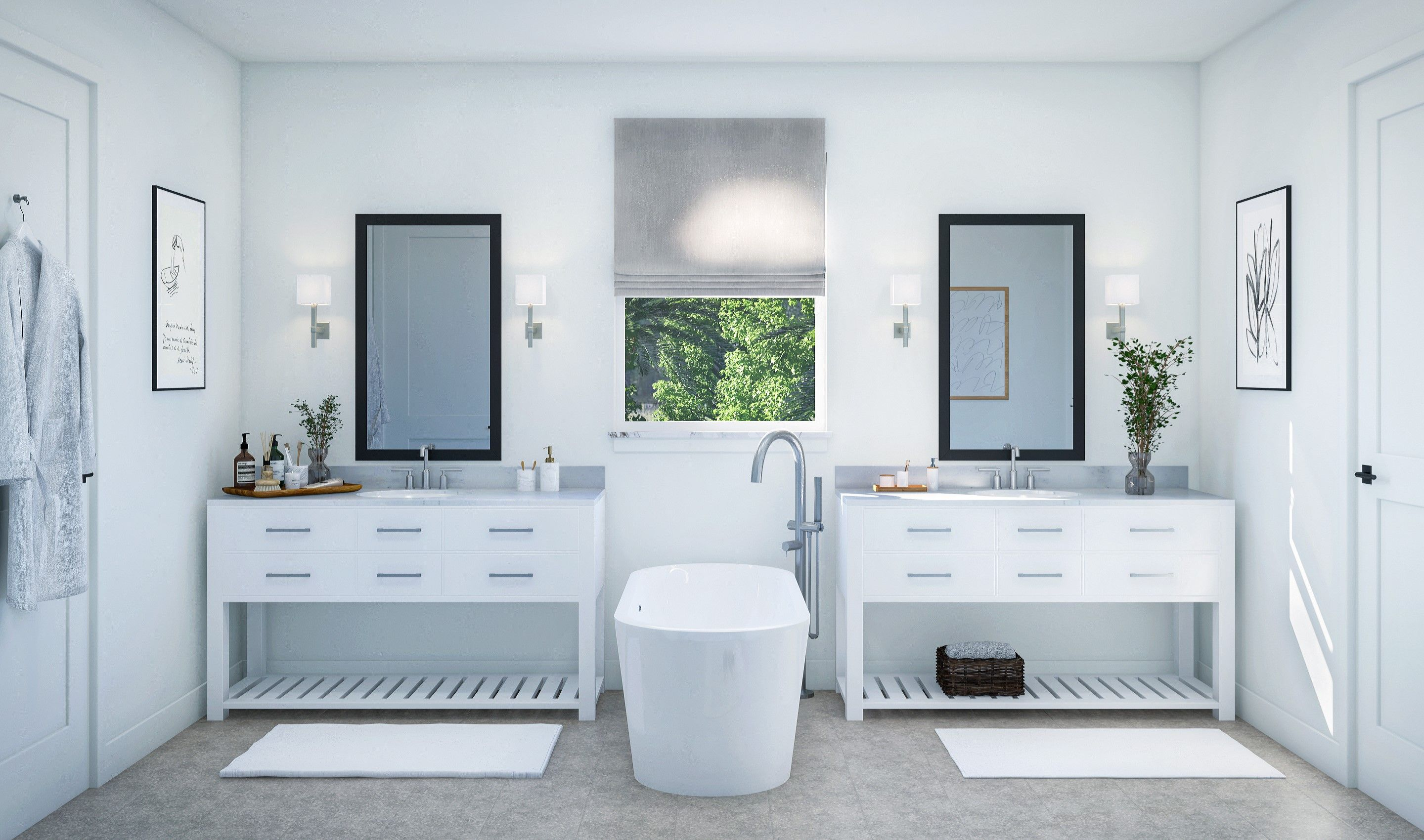 Bathroom featured in the Rosada II By K. Hovnanian® Homes in Palm Beach County, FL