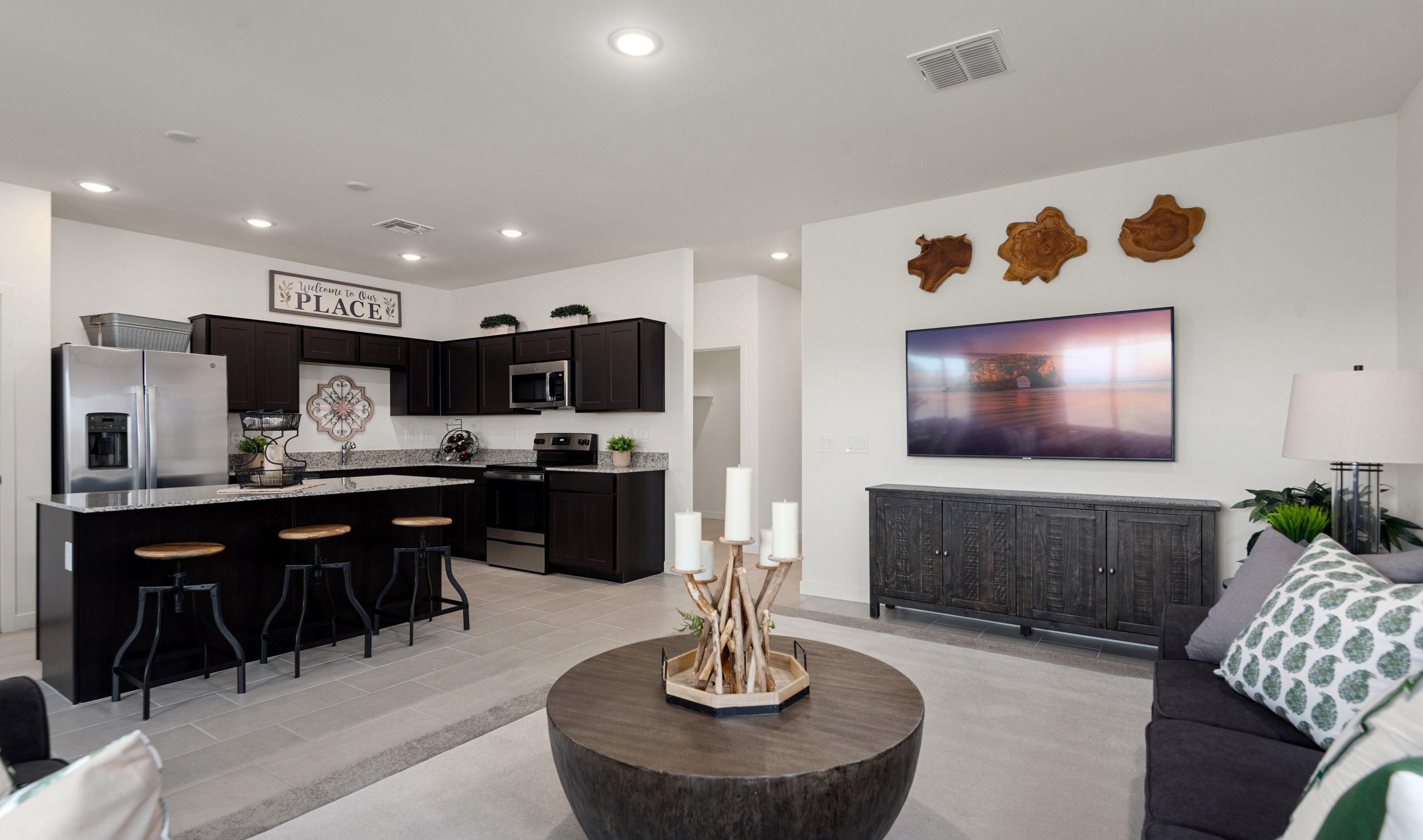 Living Area featured in the Bliss By K. Hovnanian® Homes in Phoenix-Mesa, AZ