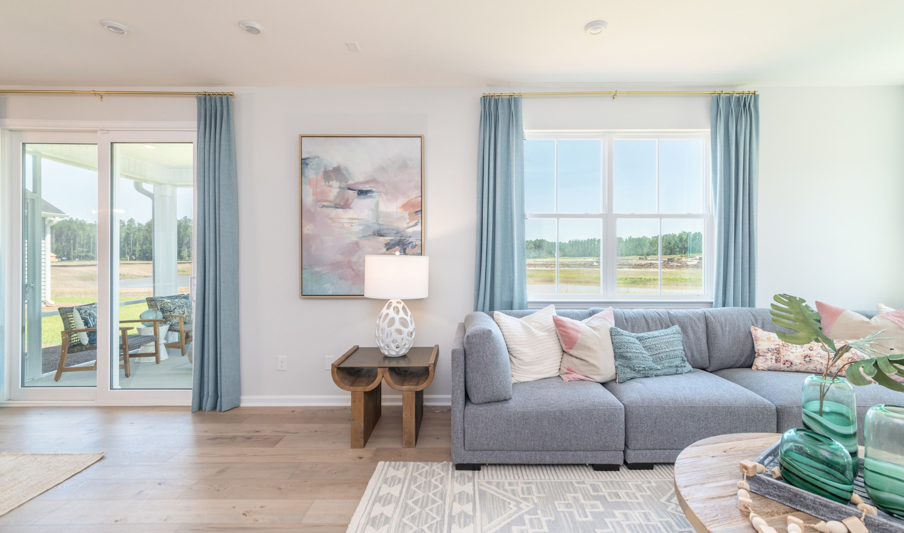 Living Area featured in the Colton II By K. Hovnanian® Homes in Hilton Head, SC
