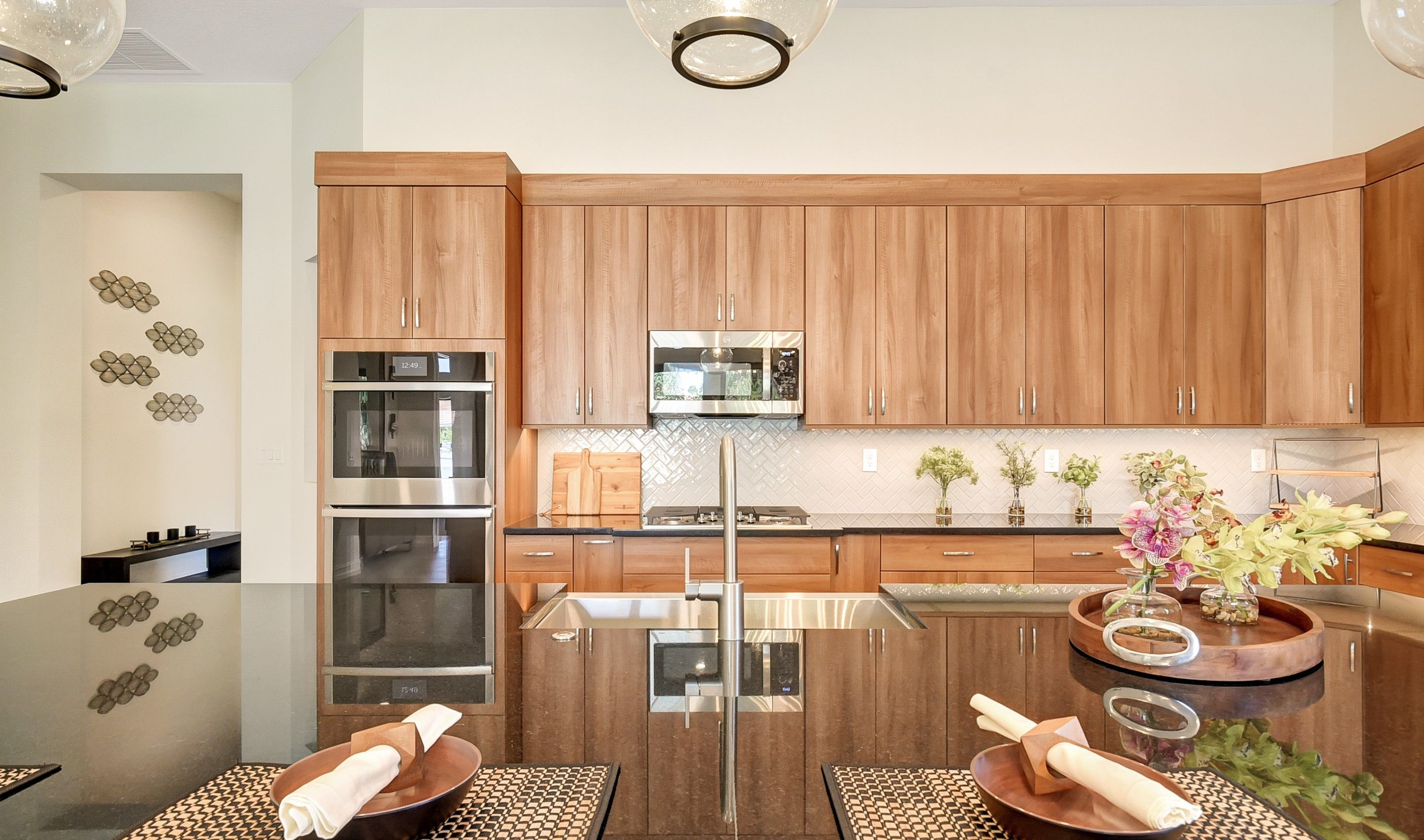 Kitchen featured in the Flora By K. Hovnanian's® Four Seasons in Broward County-Ft. Lauderdale, FL