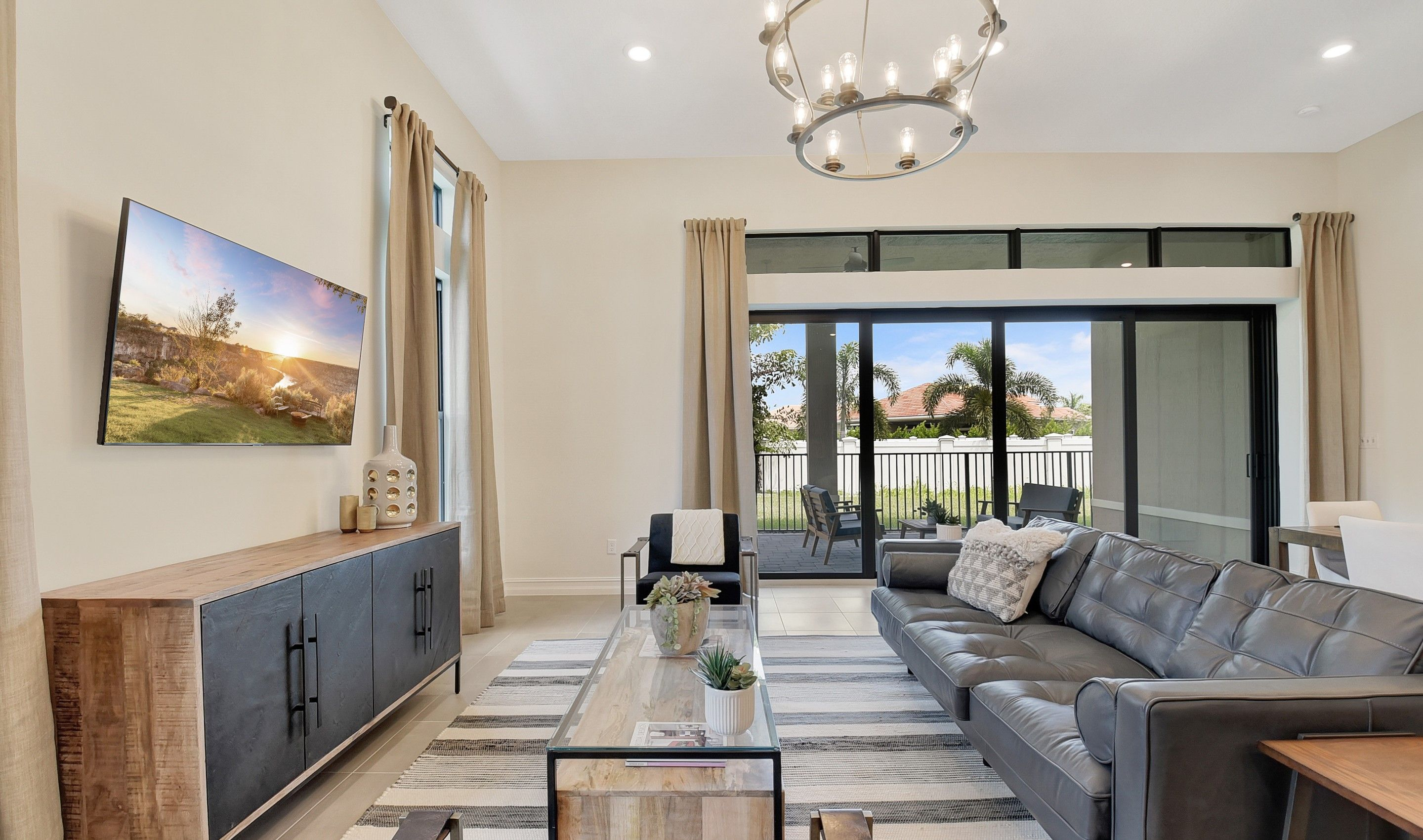 Living Area featured in the Flora By K. Hovnanian's® Four Seasons