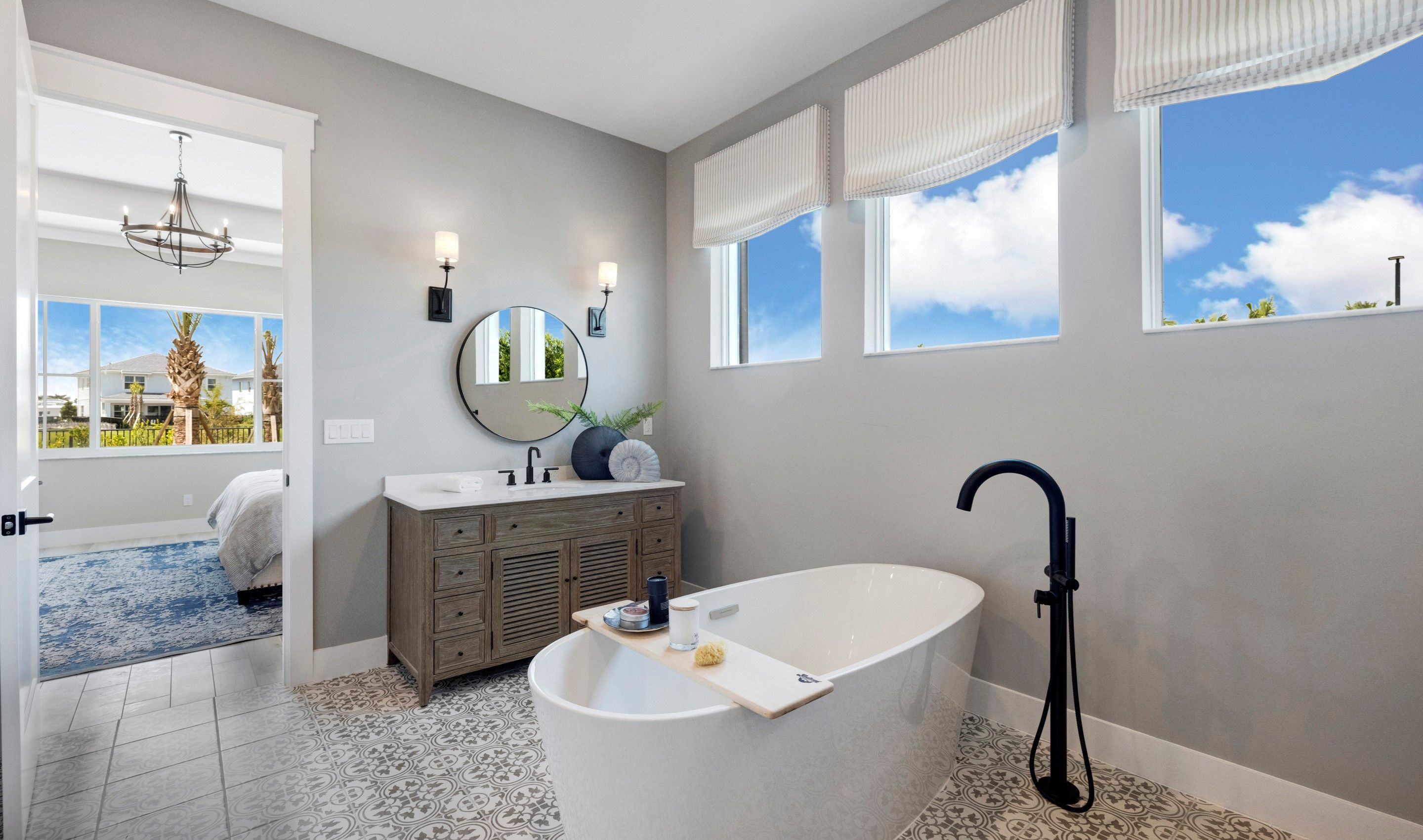 Bathroom featured in the Elsinore By K. Hovnanian® Homes in Palm Beach County, FL