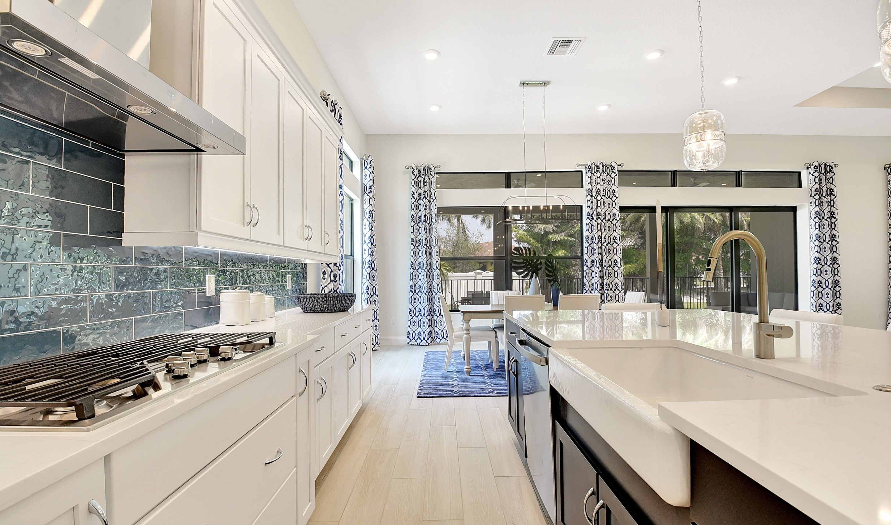 Kitchen featured in the Soleil By K. Hovnanian's® Four Seasons in Broward County-Ft. Lauderdale, FL