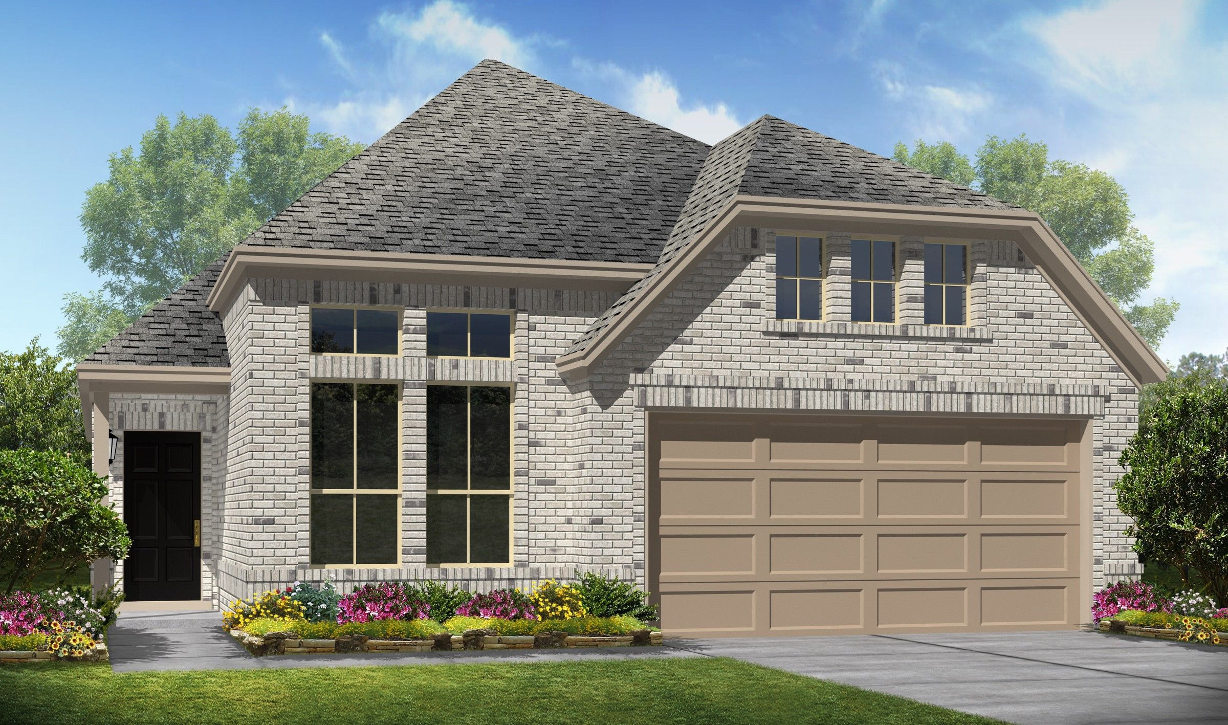 Exterior featured in the Daphne II By K. Hovnanian® Homes in Brazoria, TX