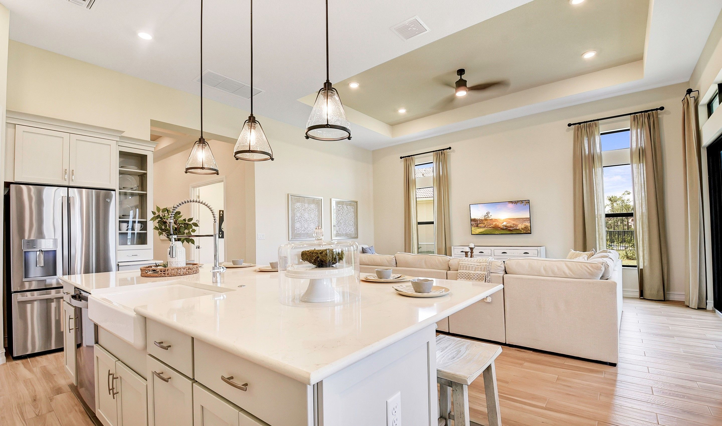 Kitchen featured in the Cerelia By K. Hovnanian's® Four Seasons