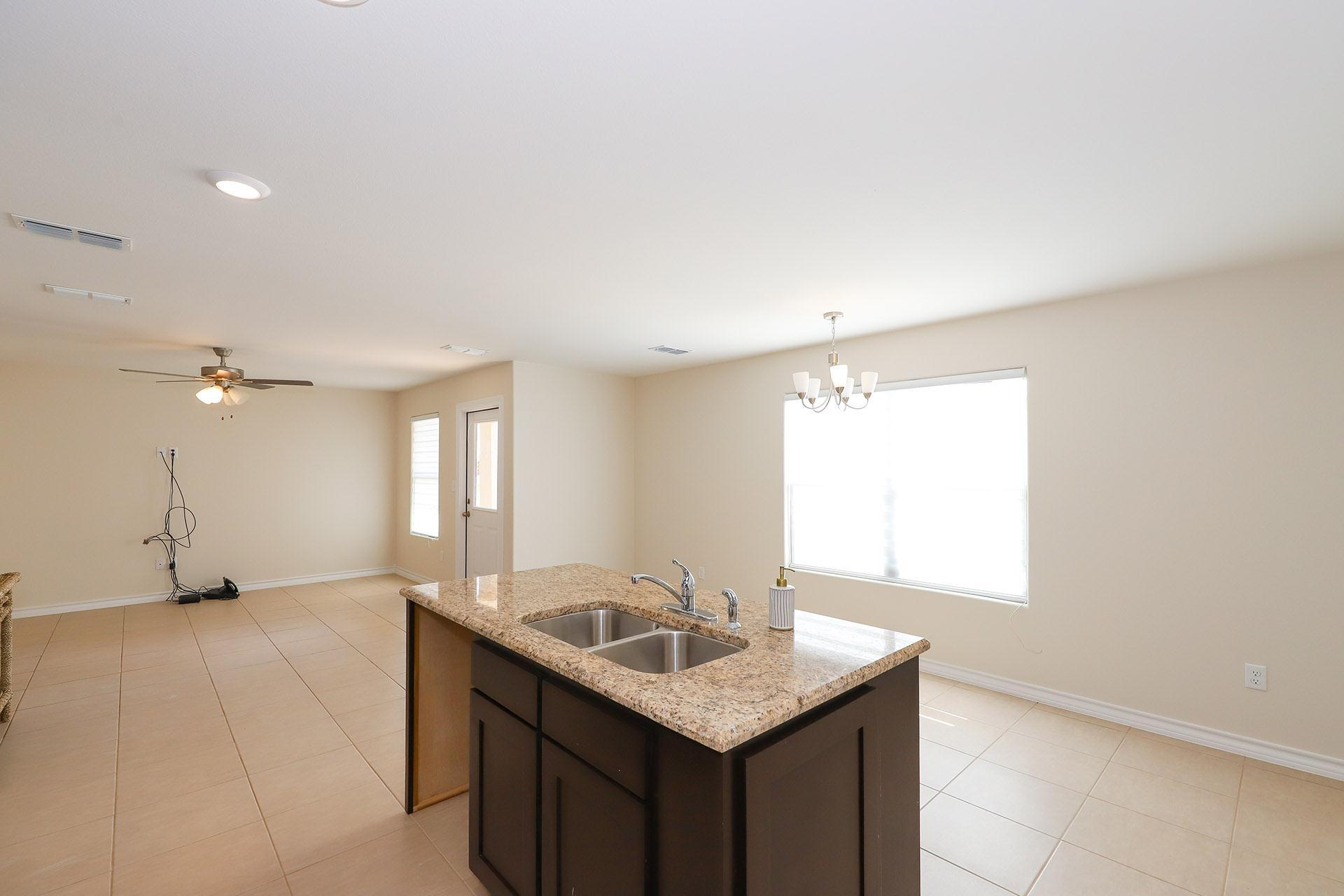 Kitchen featured in the Plan 1 By KRK Homes in Laredo, TX