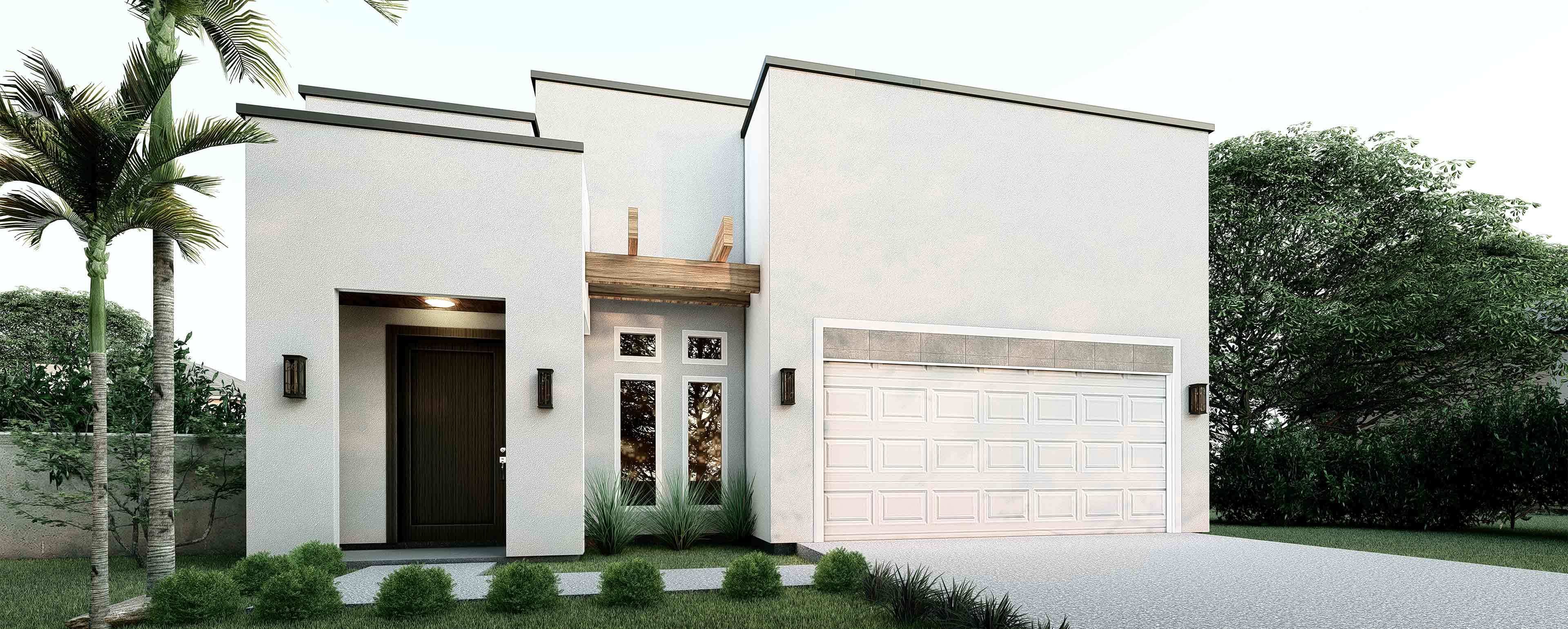 Exterior featured in the 1404 Chital Dr. By KRK Homes in Laredo, TX