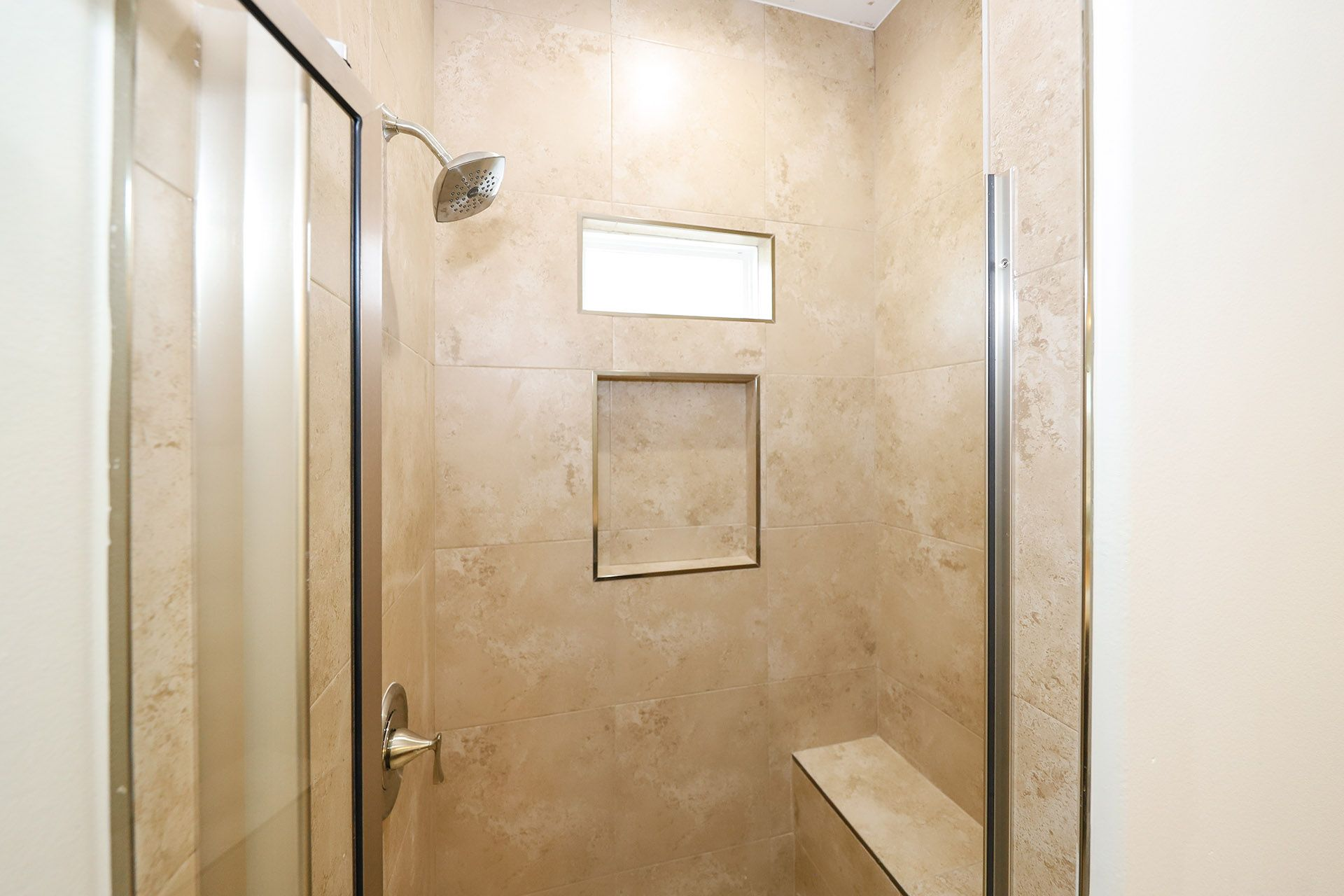 Bathroom featured in the Plan 1 By KRK Homes in Laredo, TX