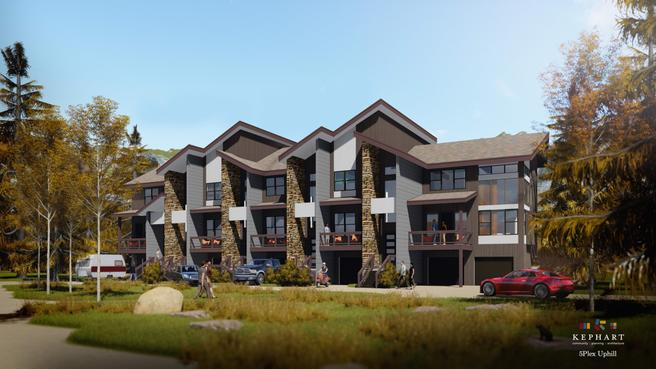 Elkhorn Townhome - Uphill C - end unit