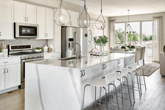 Kitchen featured in the Orion Series - Middle Unit By Koelbel Urban Homes in Denver, CO