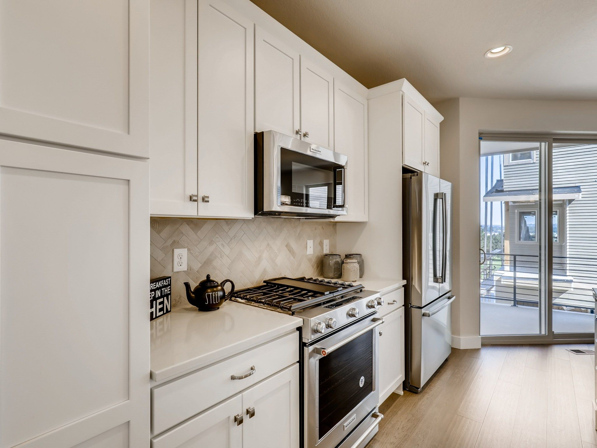 Kitchen featured in the Lookout By Koelbel Urban Homes in Denver, CO
