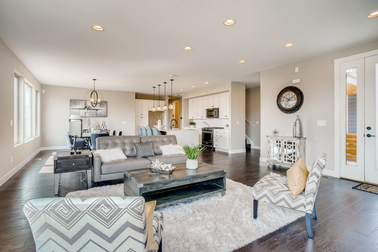 Living Area featured in the Orion Series - Main Floor Master B By Koelbel Urban Homes in Denver, CO