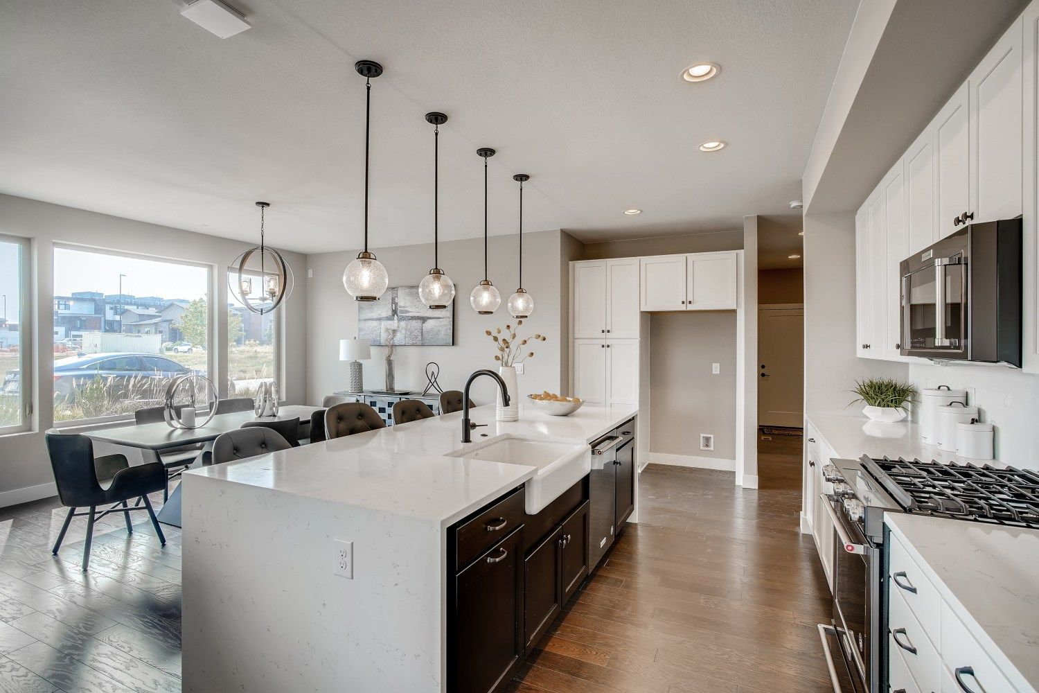 Kitchen featured in the Orion Series - Main Floor Master B By Koelbel Urban Homes in Denver, CO