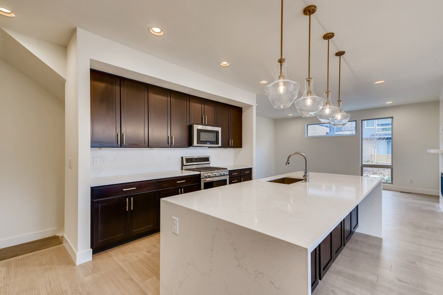 Kitchen featured in the Orion Series - Main Floor Master By Koelbel Urban Homes in Denver, CO