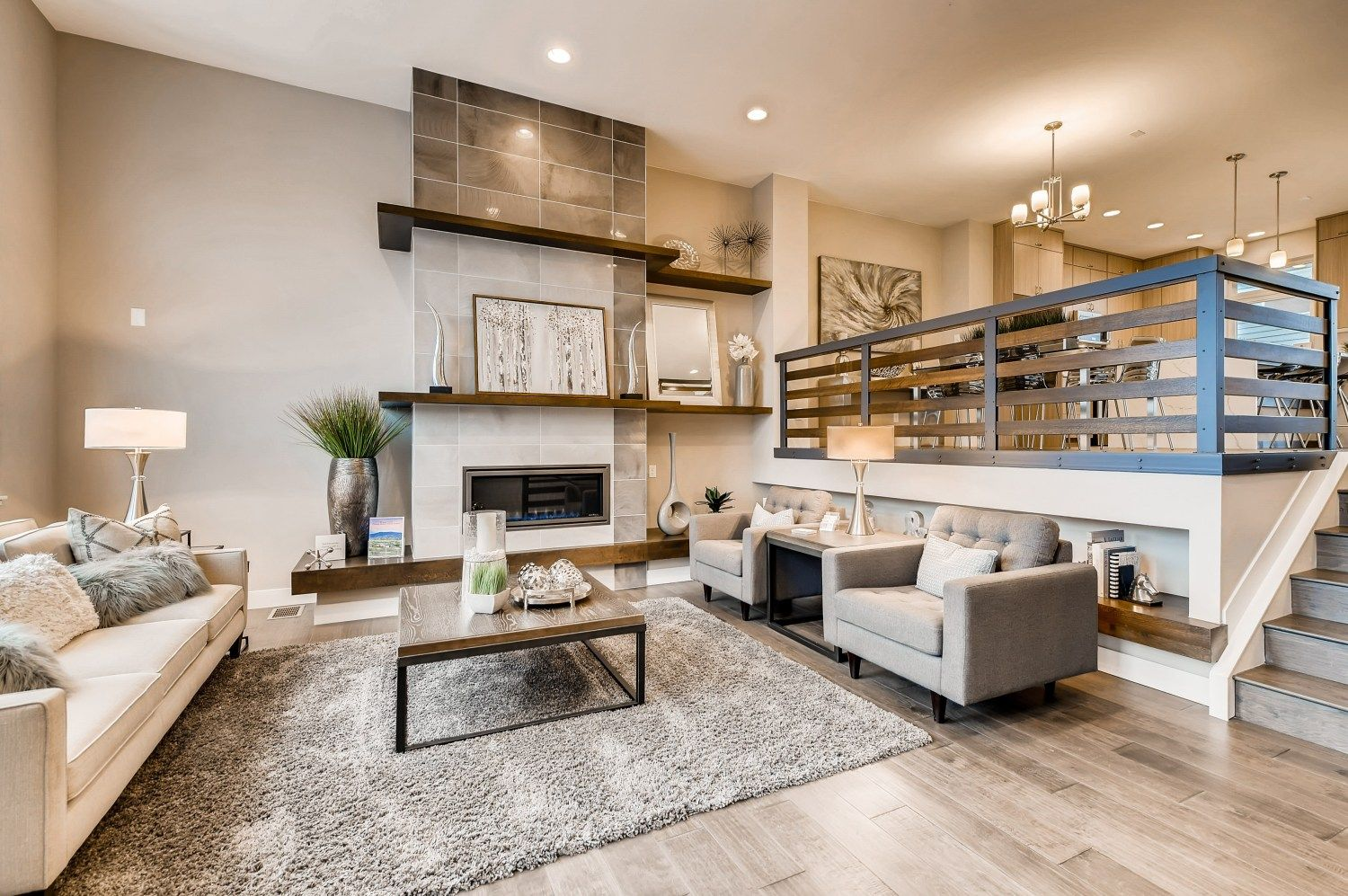 Living Area featured in the Matador Series - Interior Unit By Koelbel Urban Homes in Denver, CO