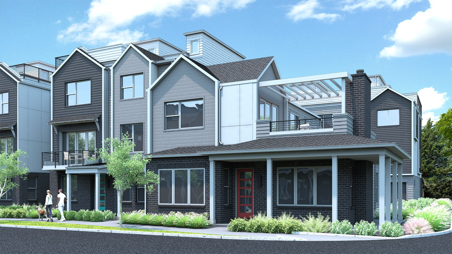 Exterior featured in the A Plan By Koelbel Urban Homes in Denver, CO