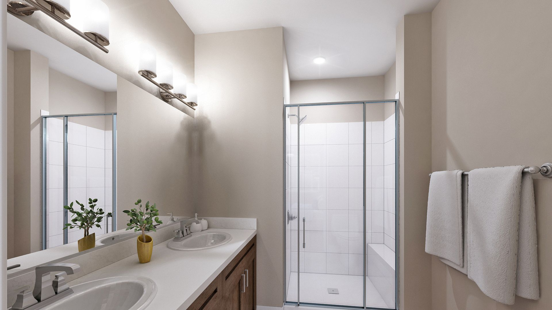 Bathroom featured in the A Plan By Koelbel Urban Homes in Denver, CO
