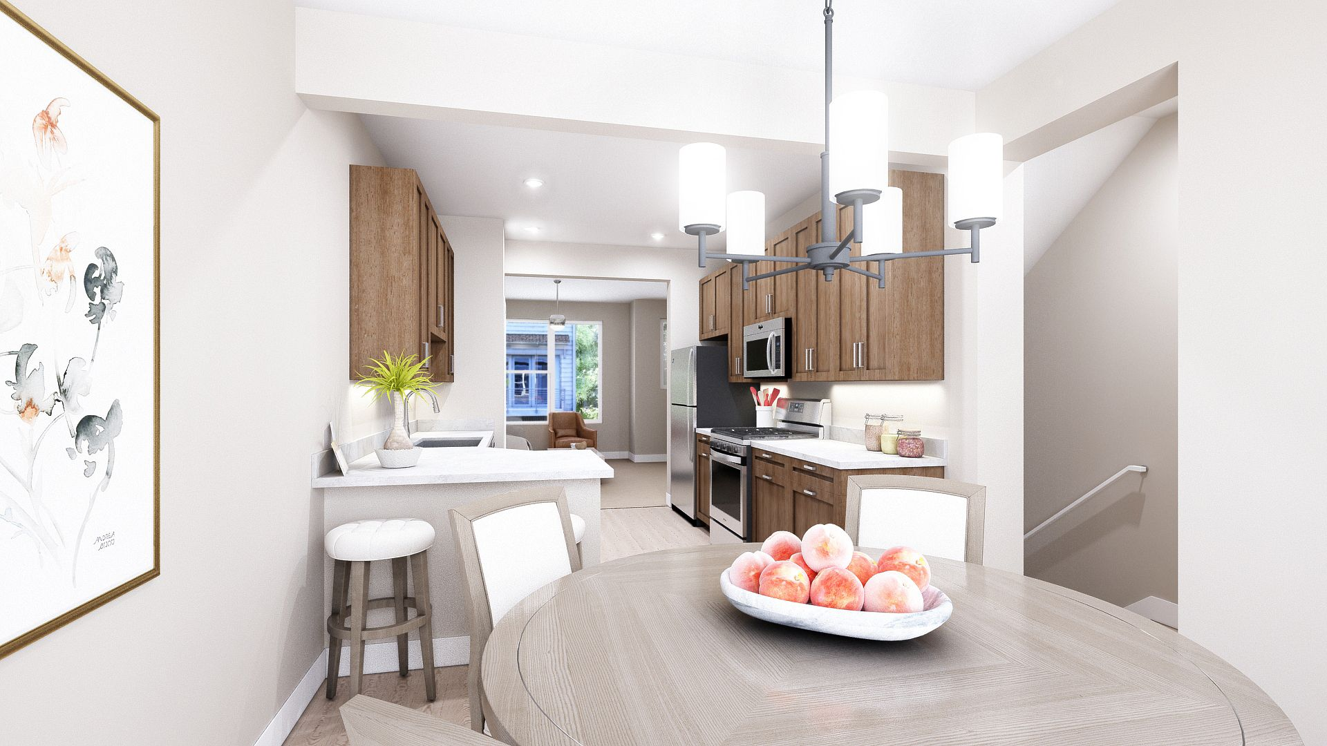 Kitchen featured in the A Plan By Koelbel Urban Homes in Denver, CO