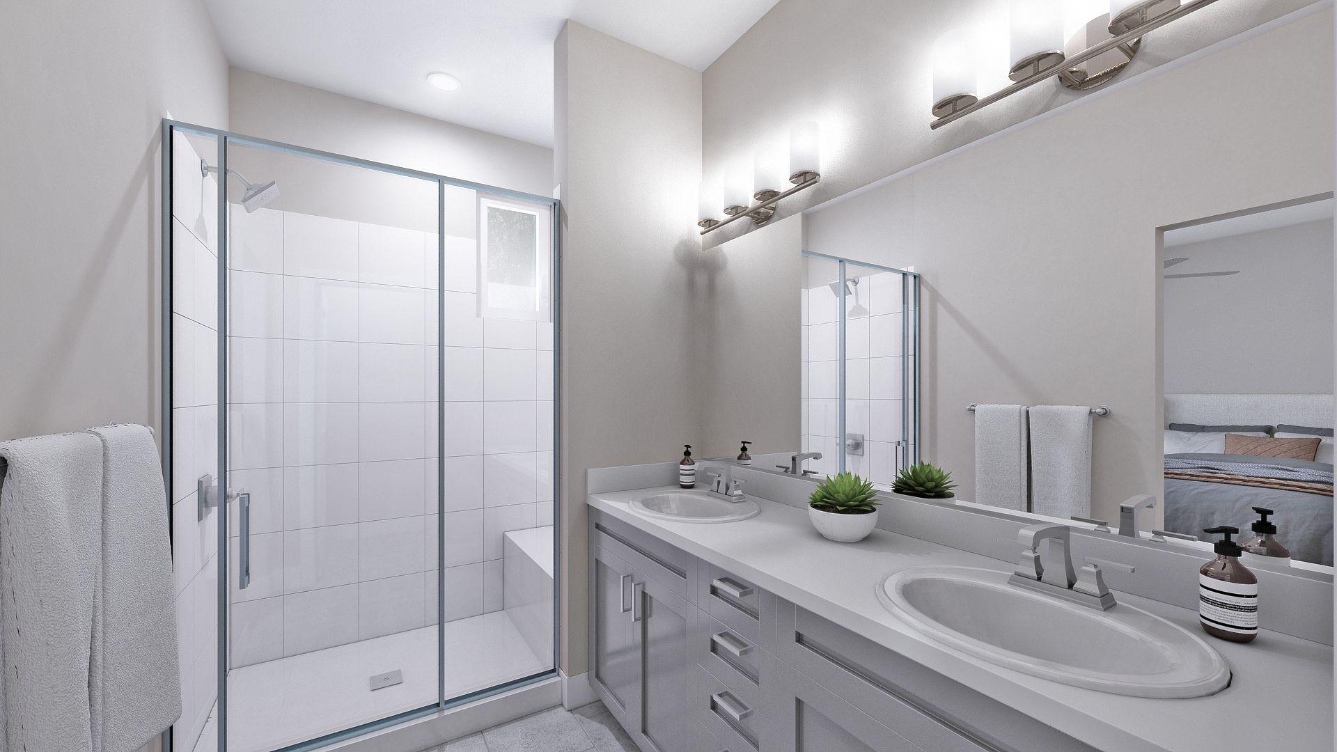 Bathroom featured in the B Plan By Koelbel Urban Homes in Denver, CO