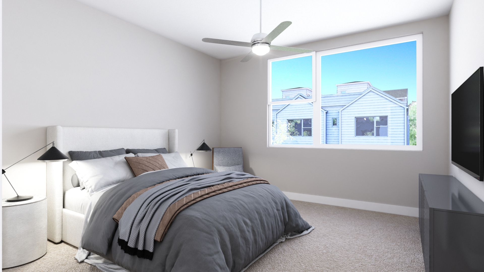 Bedroom featured in the B Plan By Koelbel Urban Homes in Denver, CO