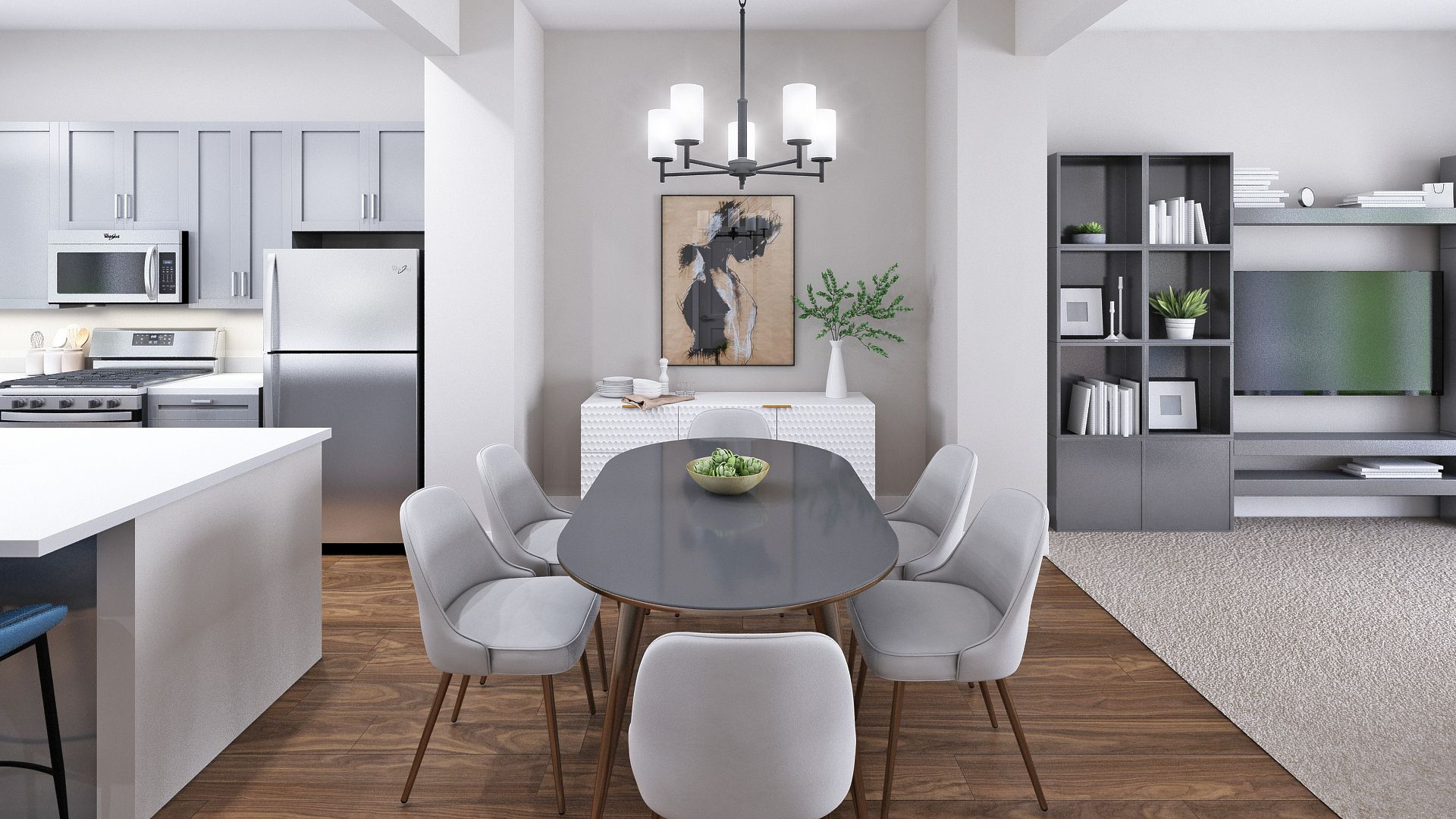 Kitchen featured in the B Plan By Koelbel Urban Homes in Denver, CO