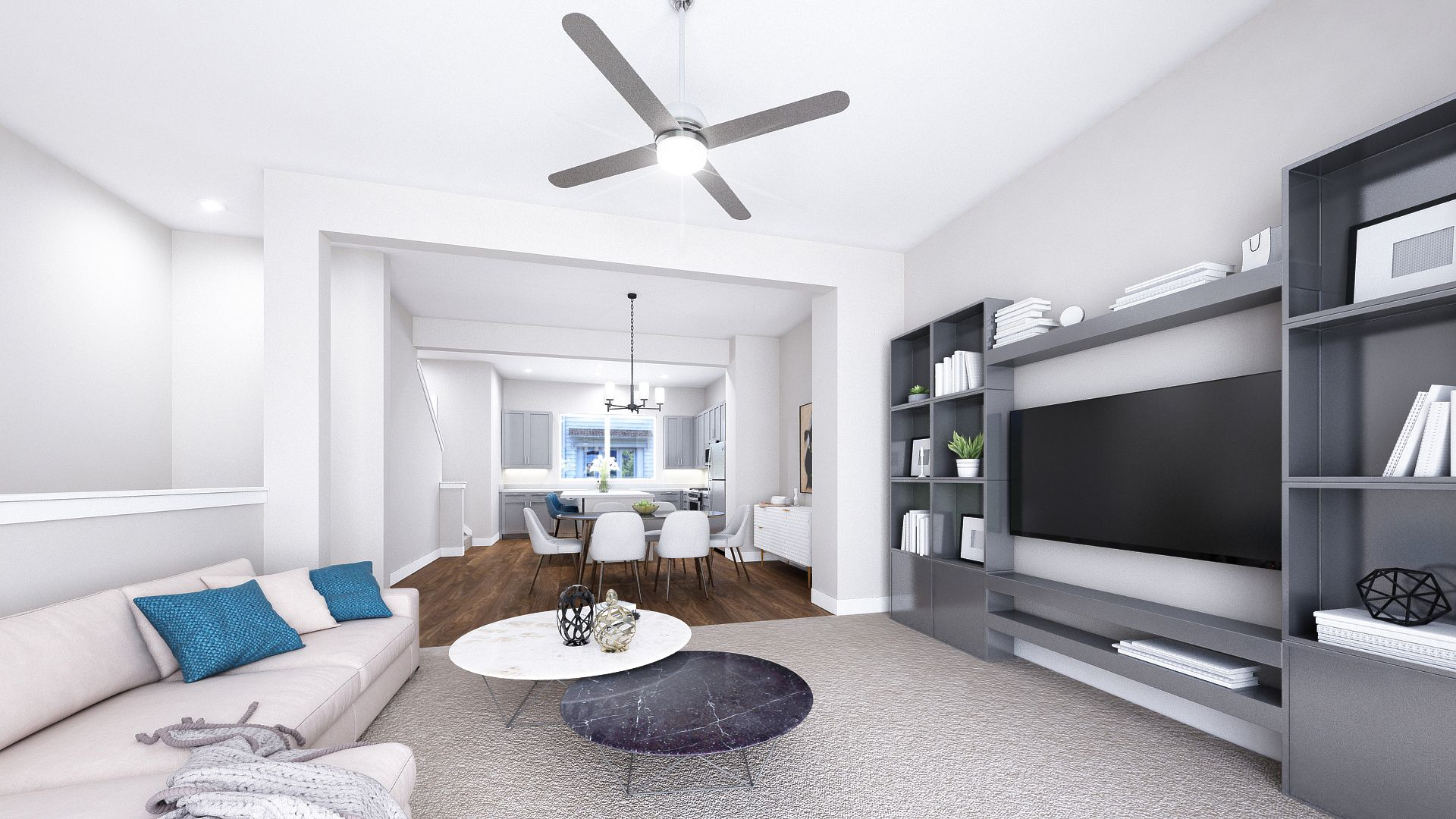 Living Area featured in the B Plan By Koelbel Urban Homes in Denver, CO