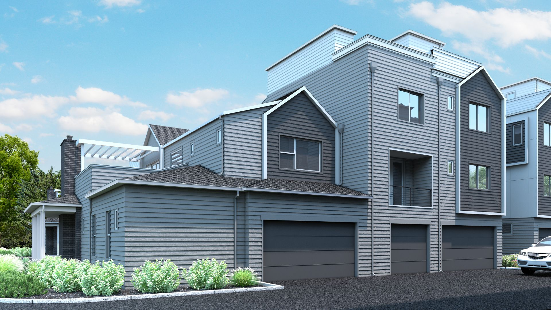 Exterior featured in the C Plan By Koelbel Urban Homes in Denver, CO