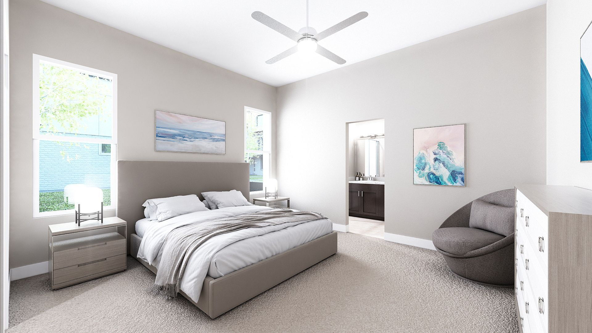 Bedroom featured in the C Plan By Koelbel Urban Homes in Denver, CO