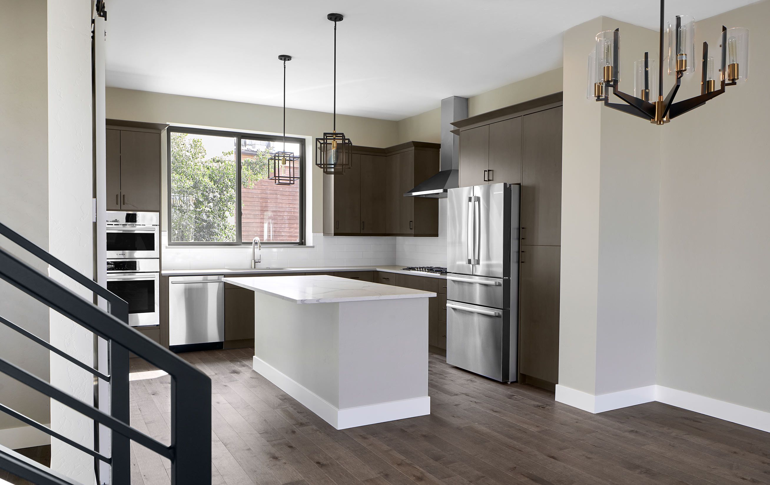 Kitchen featured in the RVC Plan B townhome By Koelbel Mountain Communities in Boulder-Longmont, CO