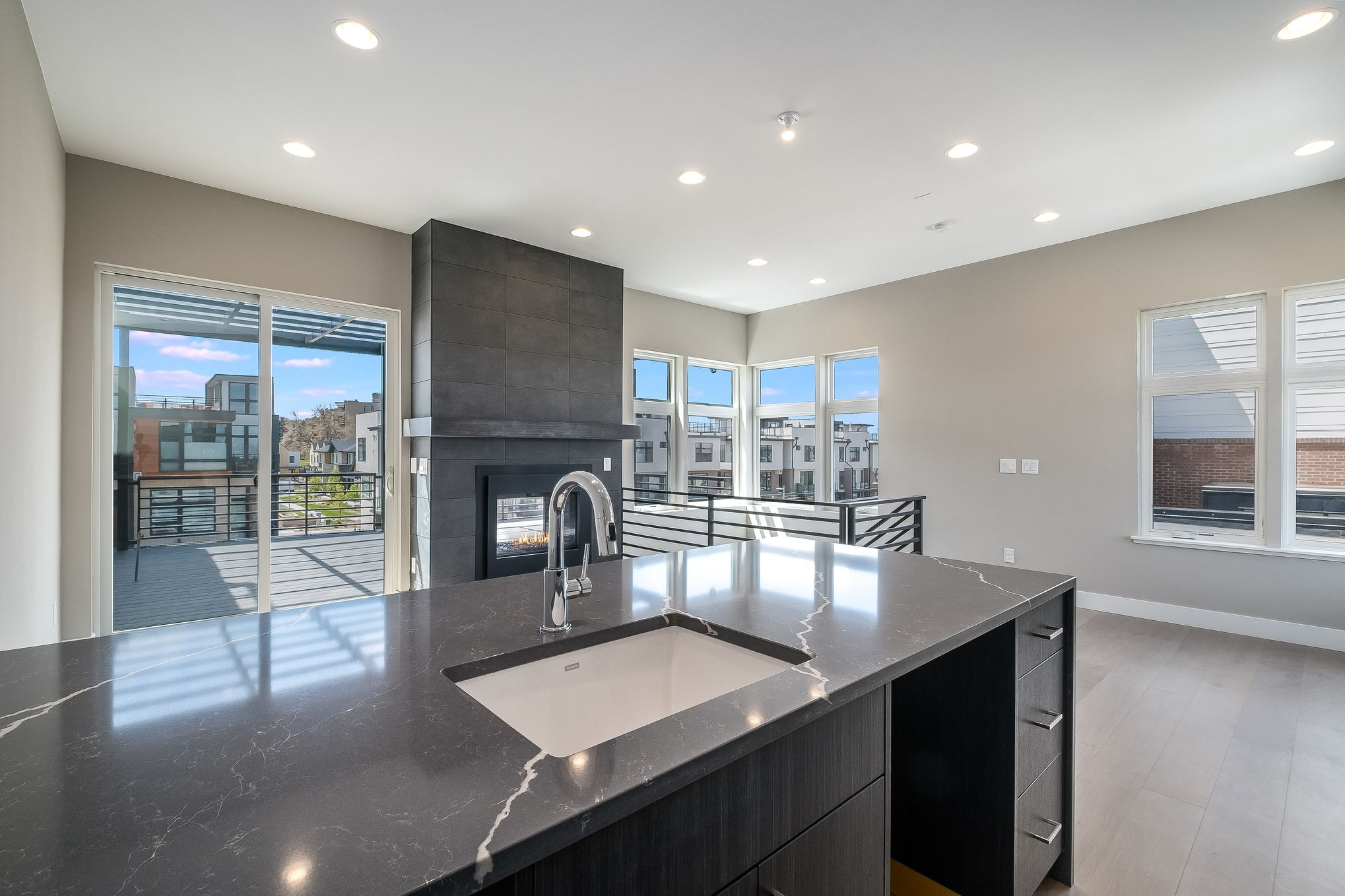 Kitchen featured in the Atlas - Main Floor Master End Unit By Koelbel Urban Homes in Denver, CO